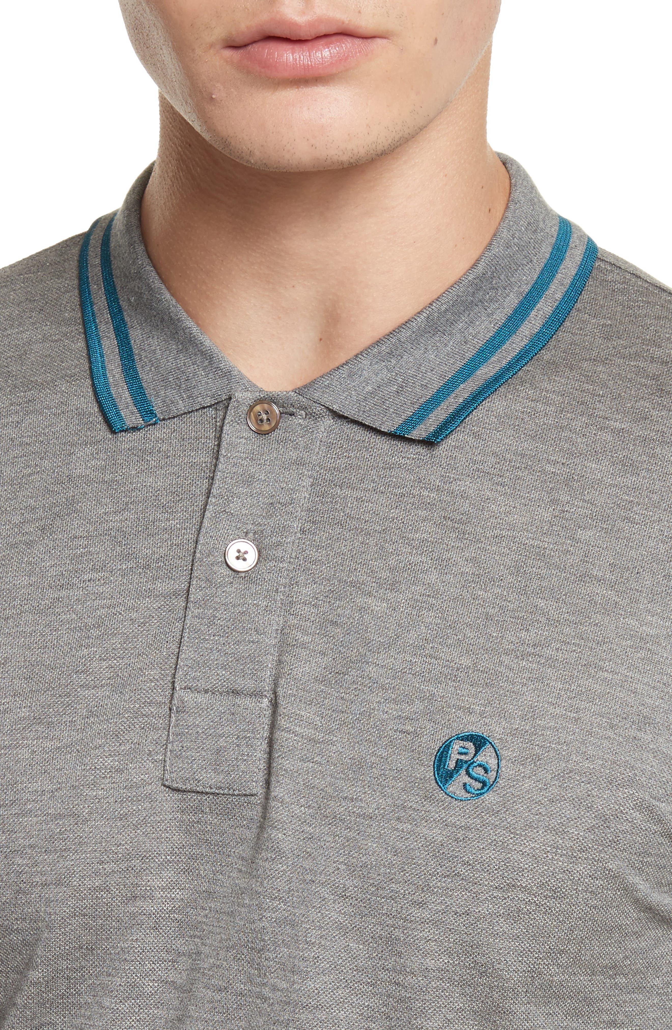 Tipped Logo Polo,                             Alternate thumbnail 11, color,