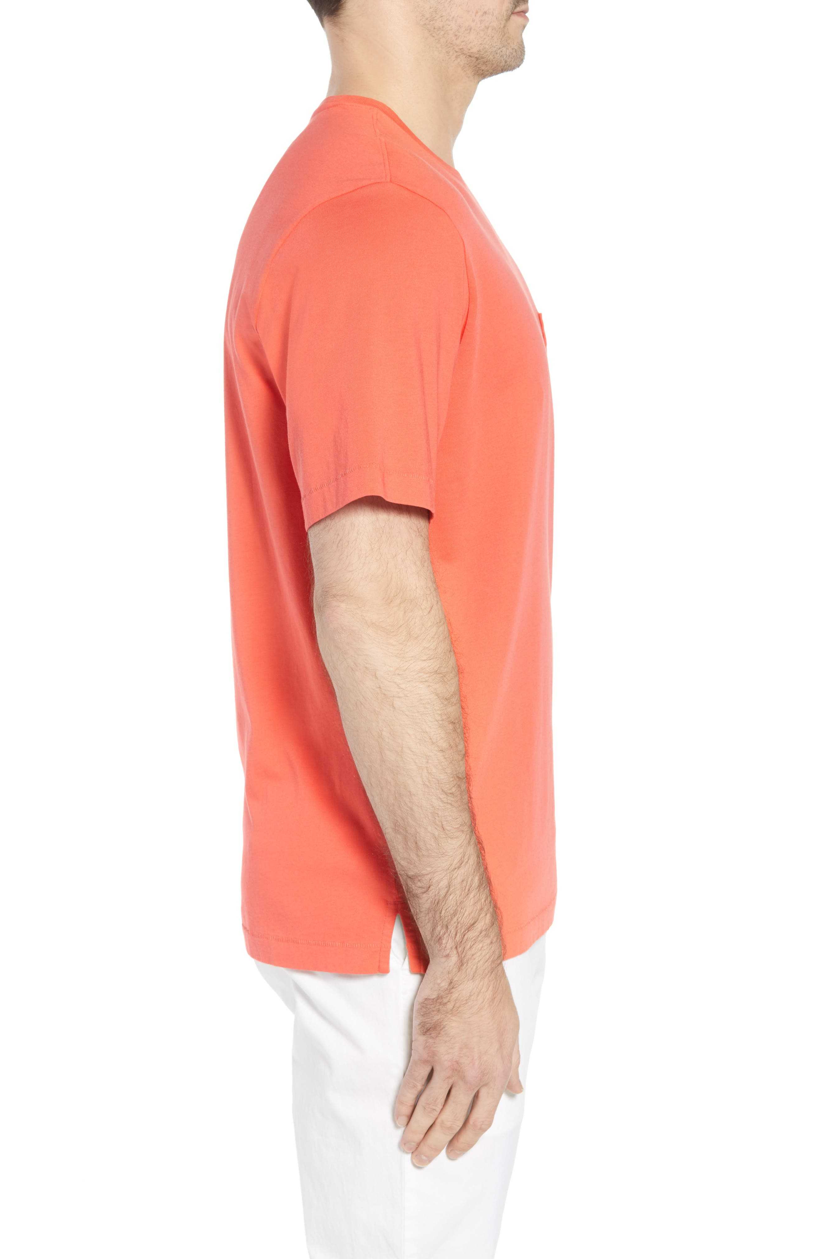 New Bali Sky Pima Cotton Pocket T-Shirt,                             Alternate thumbnail 83, color,