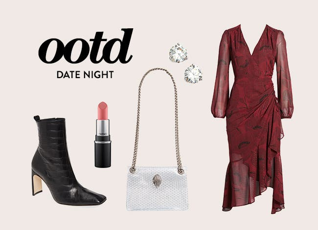 Date night outfit of the day.