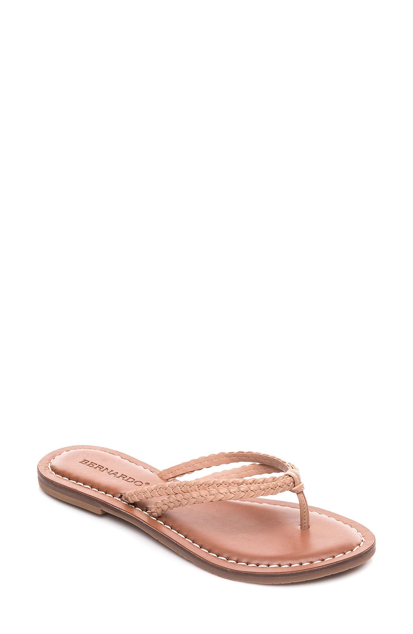 Bernardo Greta Braided Strap Sandal,                             Main thumbnail 5, color,