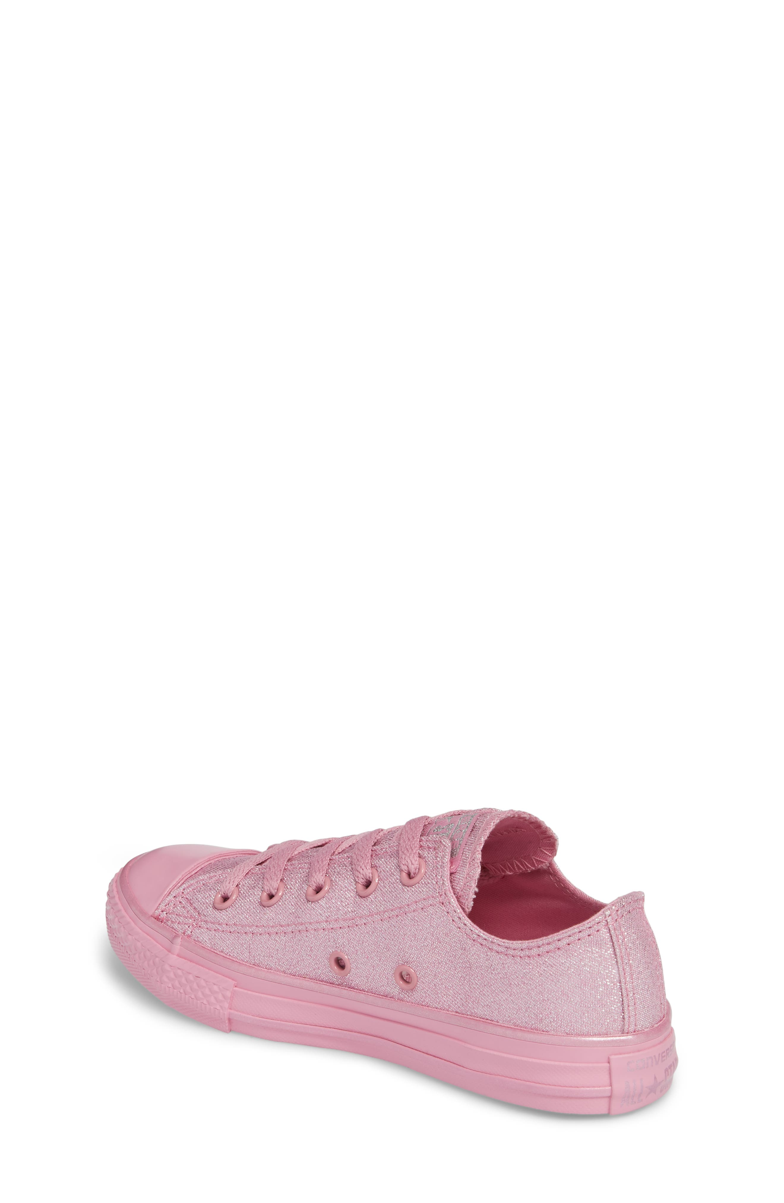 All Star<sup>®</sup> Mono Shine Low Top Sneaker,                             Alternate thumbnail 2, color,                             650