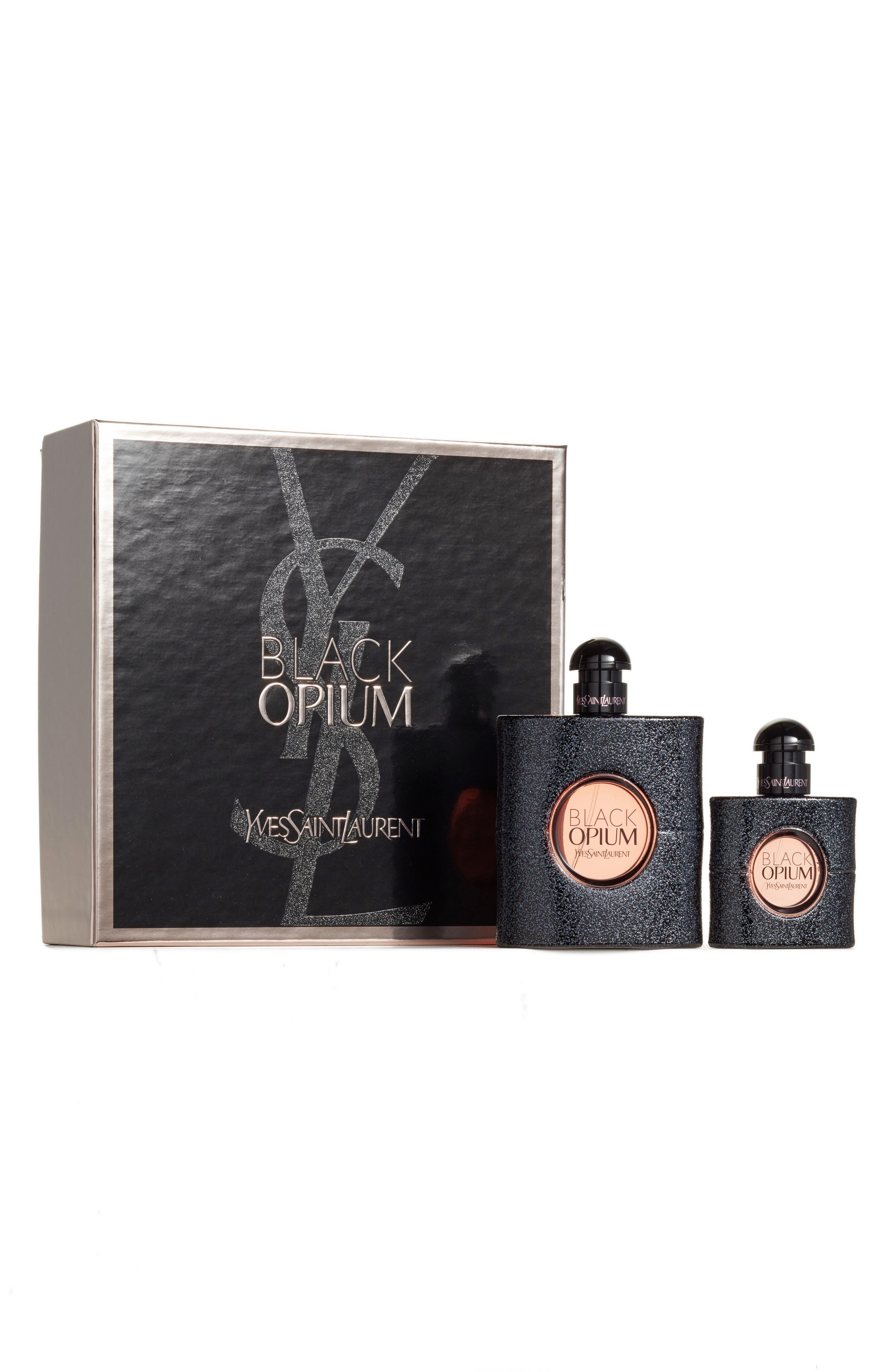 Black Opium Set,                             Main thumbnail 1, color,                             000