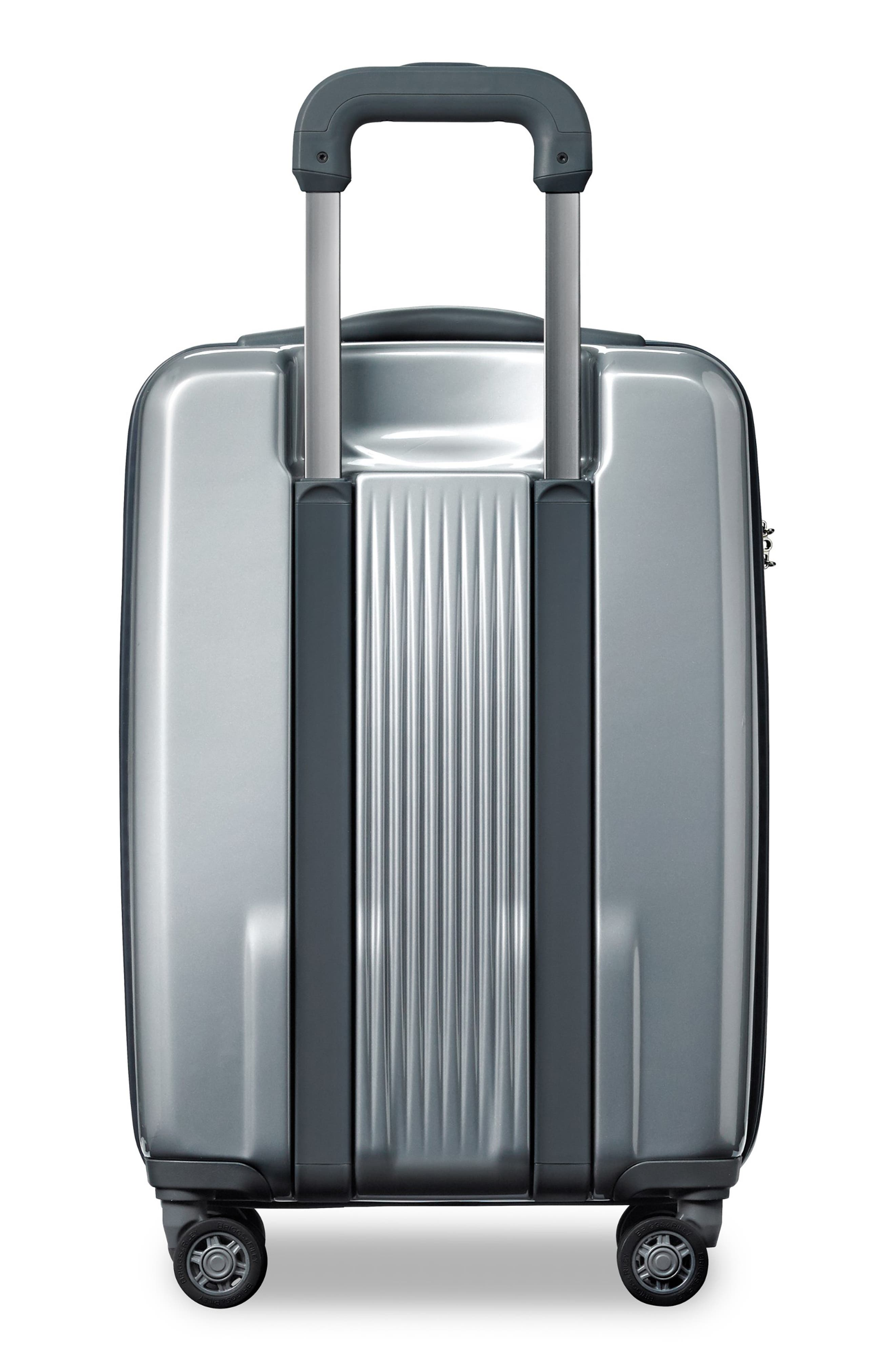 Sympatico Special Edition Expandable 21-Inch Spinner International Carry-On,                             Alternate thumbnail 5, color,                             SILVER