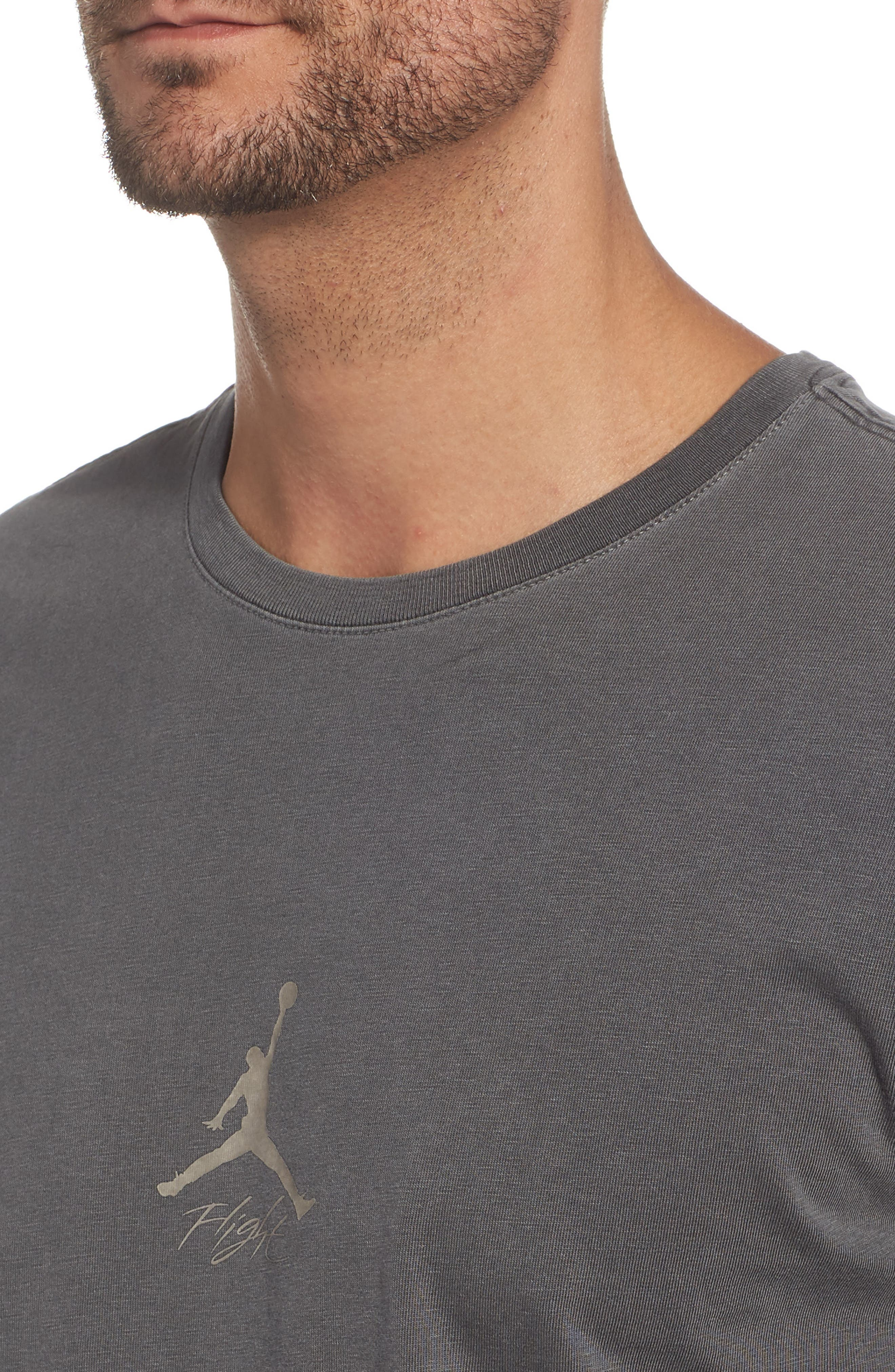 JORDAN,                             Wings Cotton T-Shirtee,                             Alternate thumbnail 4, color,                             010