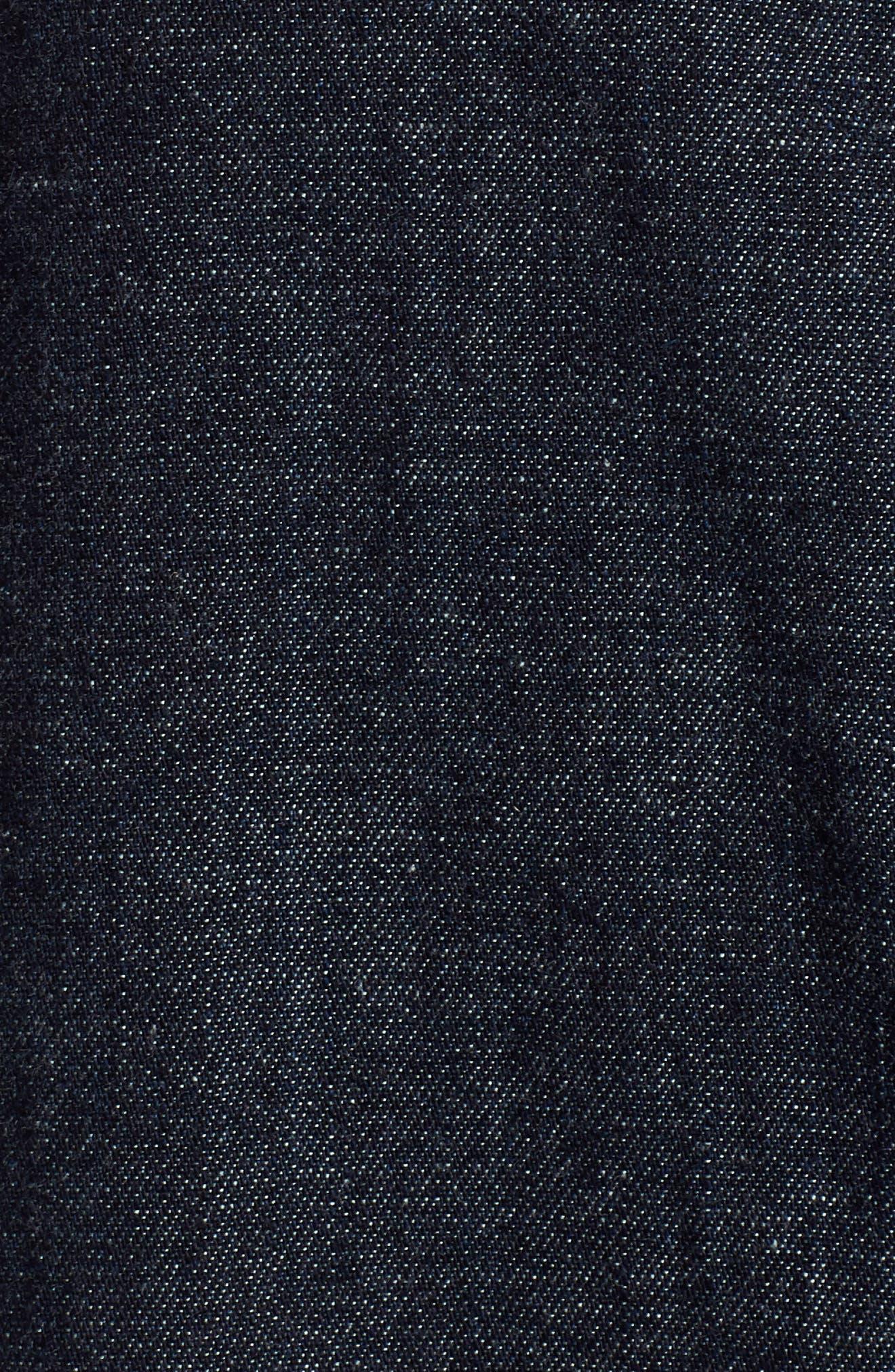 Acoustic Denim Shirt,                             Alternate thumbnail 6, color,                             439
