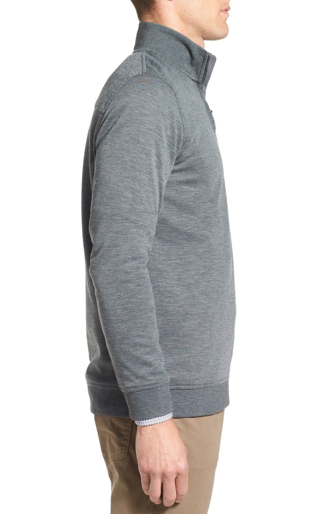 'Mandra' Quarter Zip Pullover,                             Alternate thumbnail 4, color,                             020