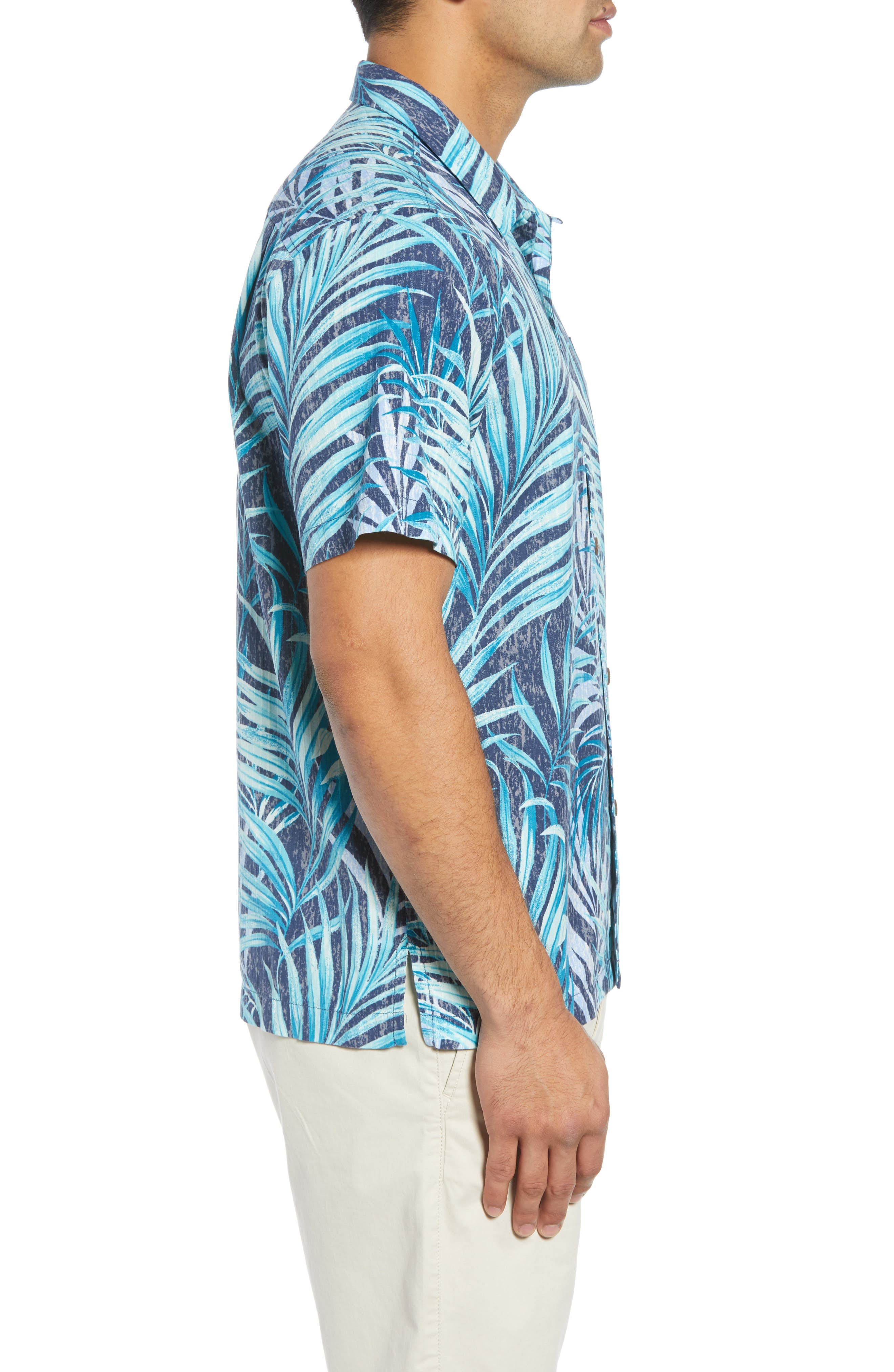 Teatro Palms Sport Shirt,                             Alternate thumbnail 3, color,                             SHIPWRECK