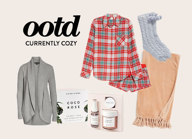 Outfit of the day: currently cozy.