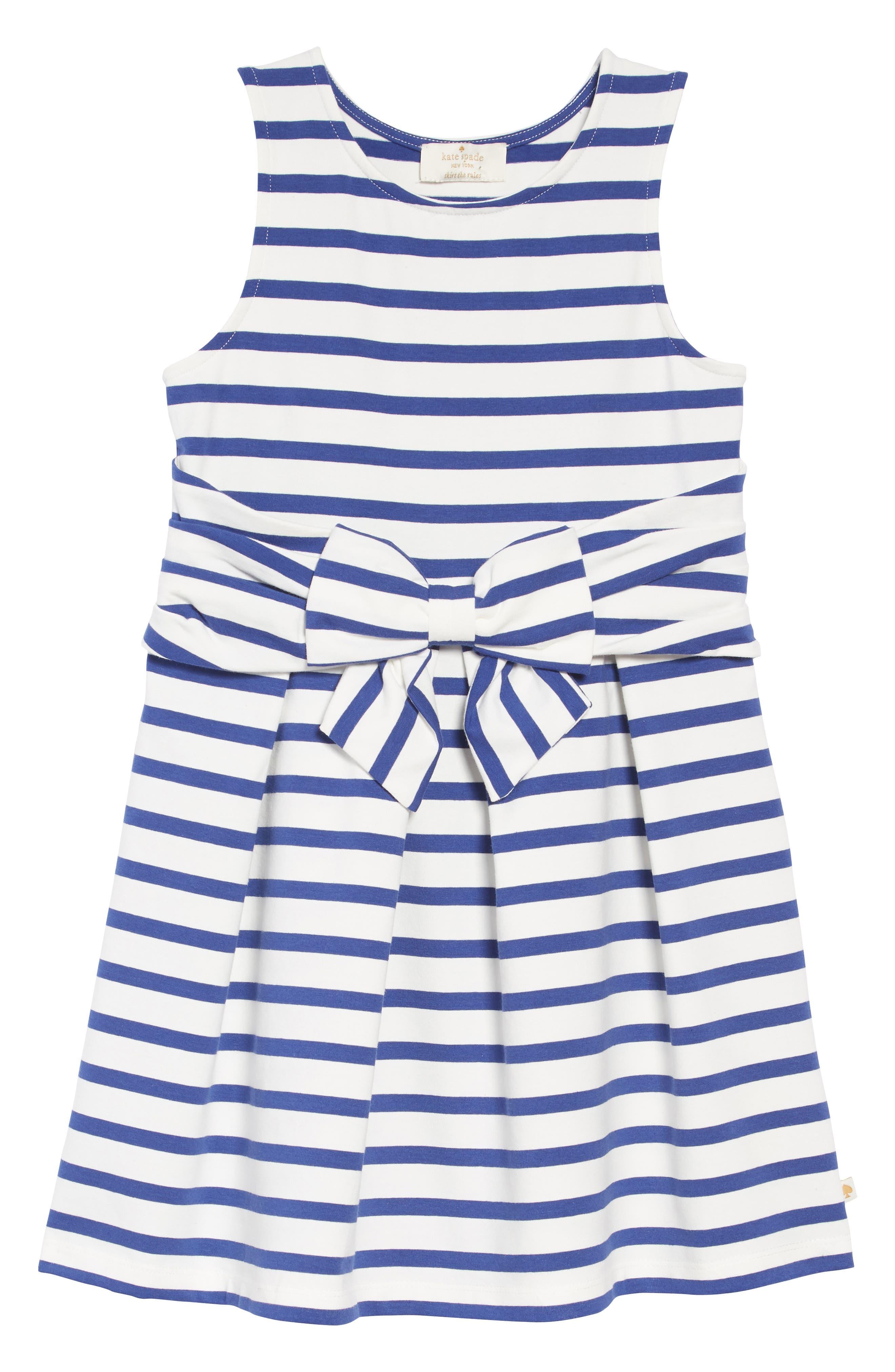 jillian stripe dress,                         Main,                         color, 400