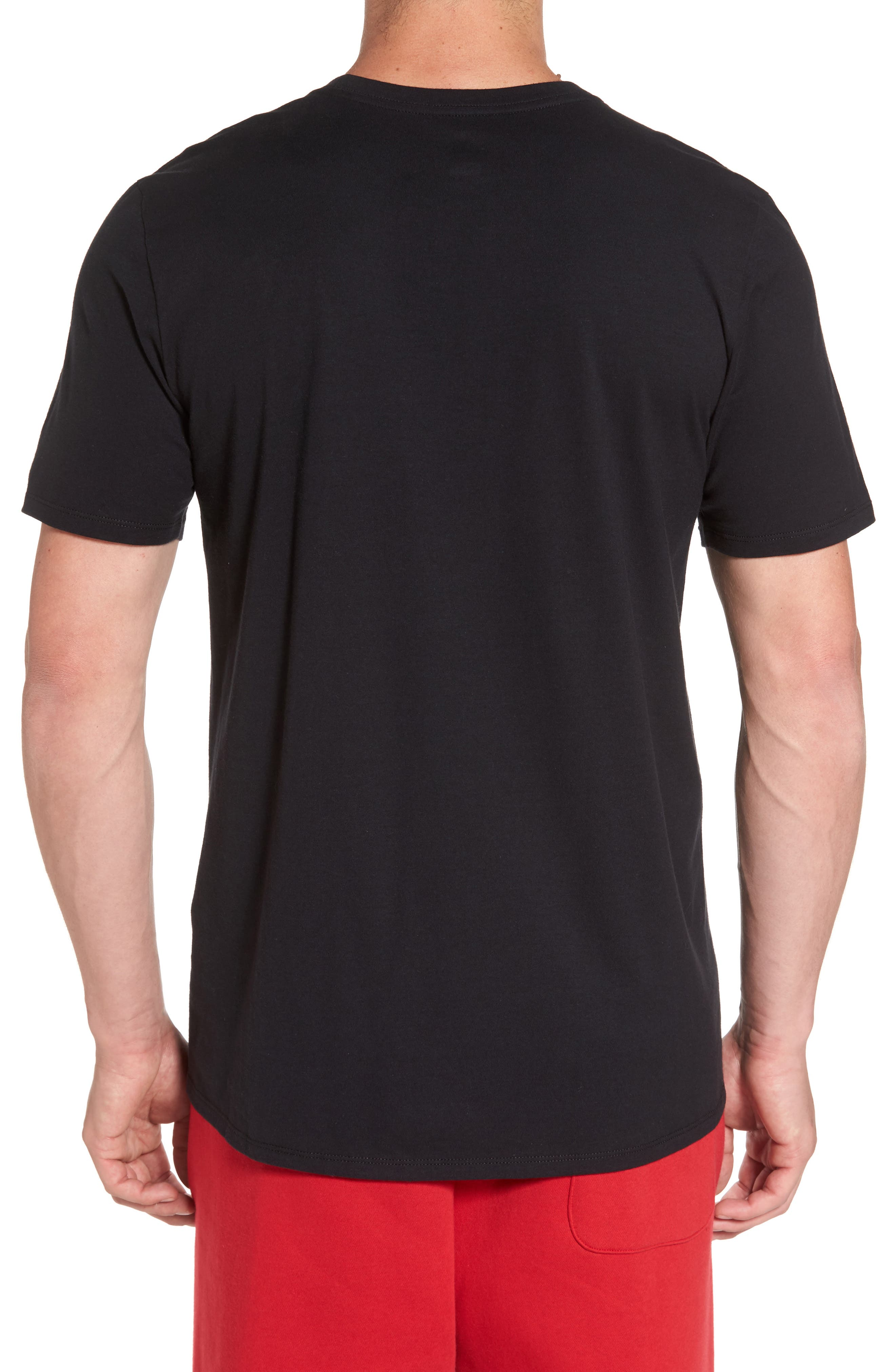 Sportswear Wings Logo Graphic T-Shirt,                             Alternate thumbnail 4, color,