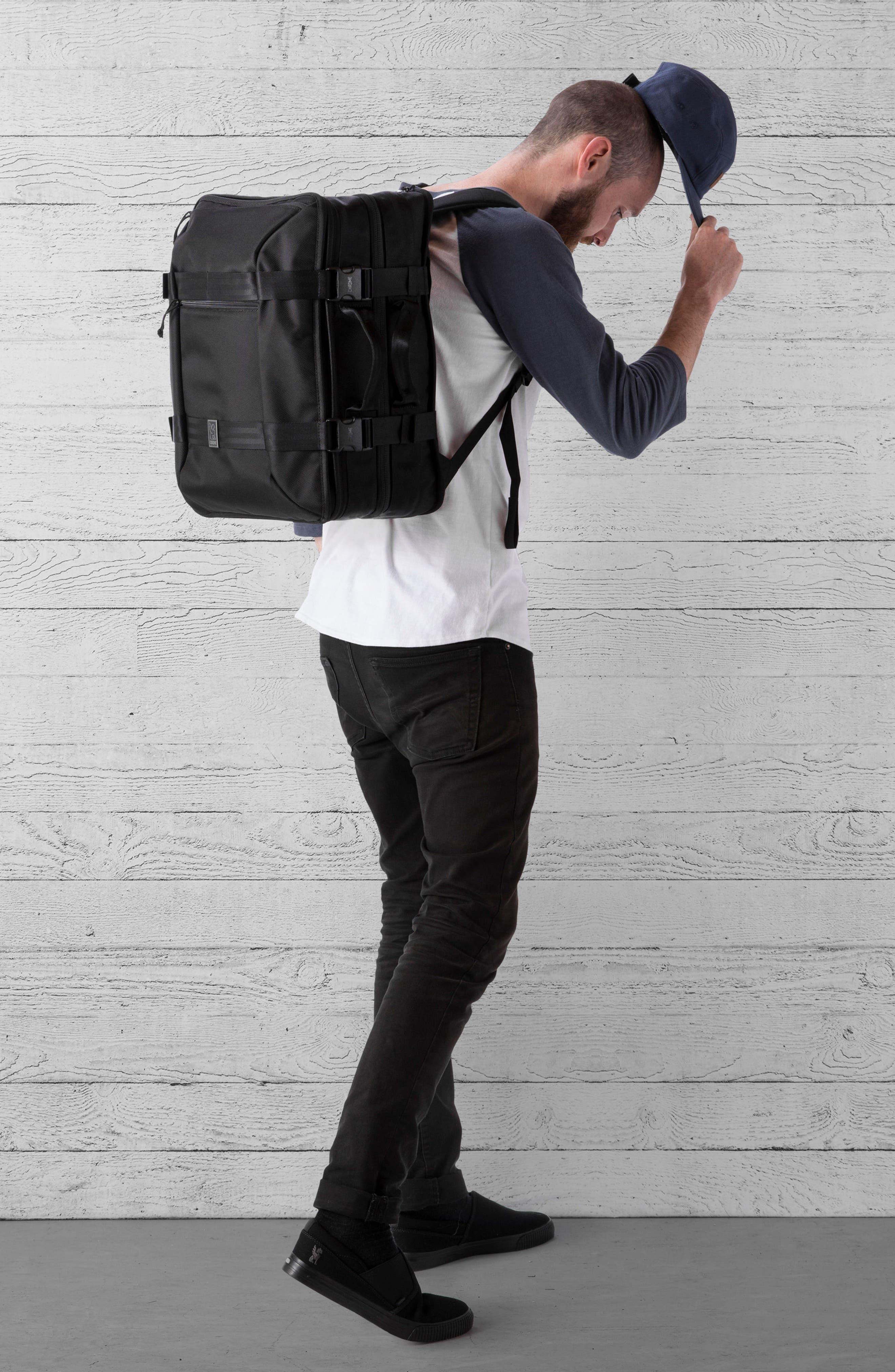 Macheto Travel Backpack,                             Alternate thumbnail 2, color,                             ALL BLACK