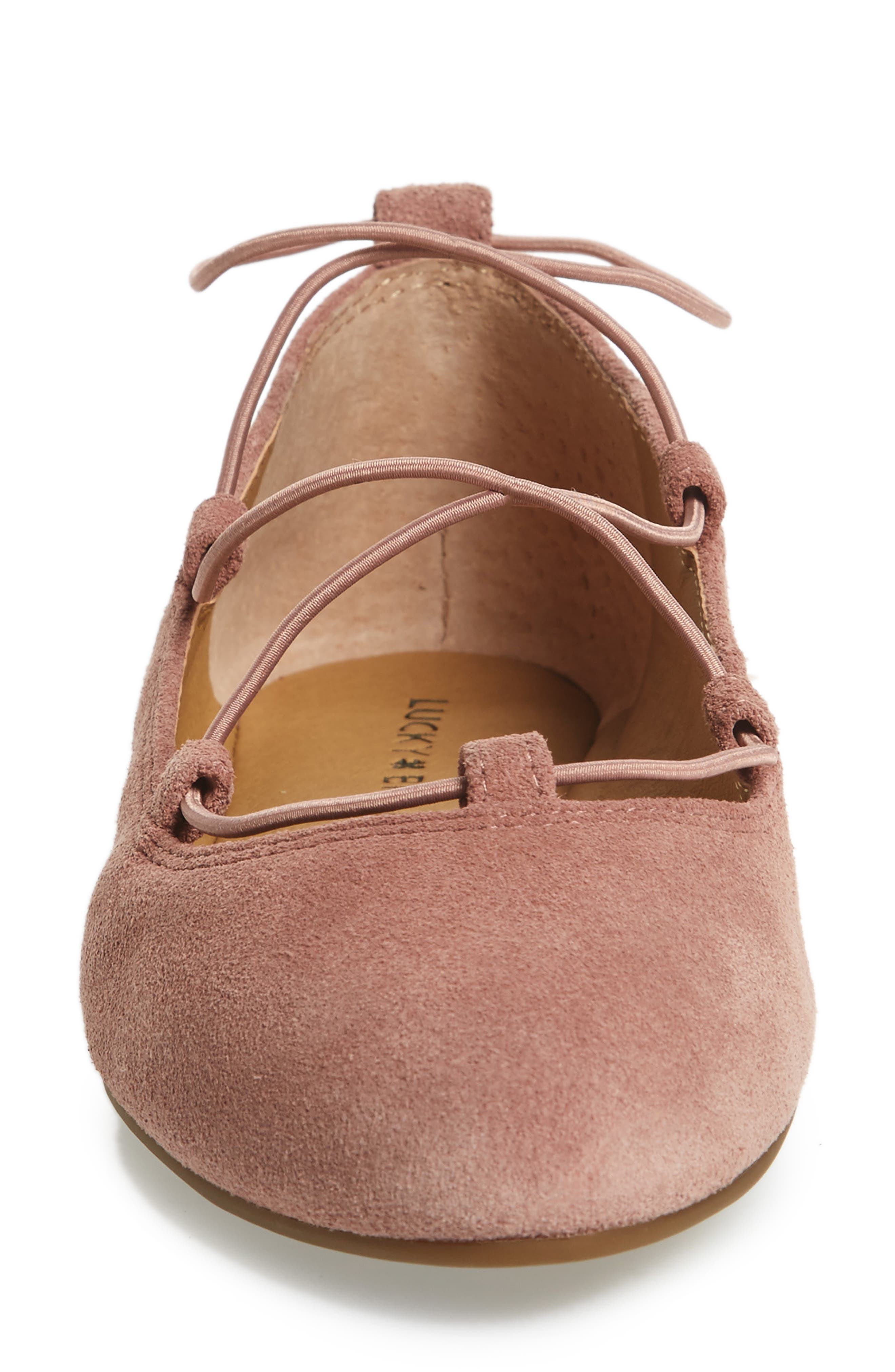 'Aviee' Lace-Up Flat,                             Alternate thumbnail 36, color,