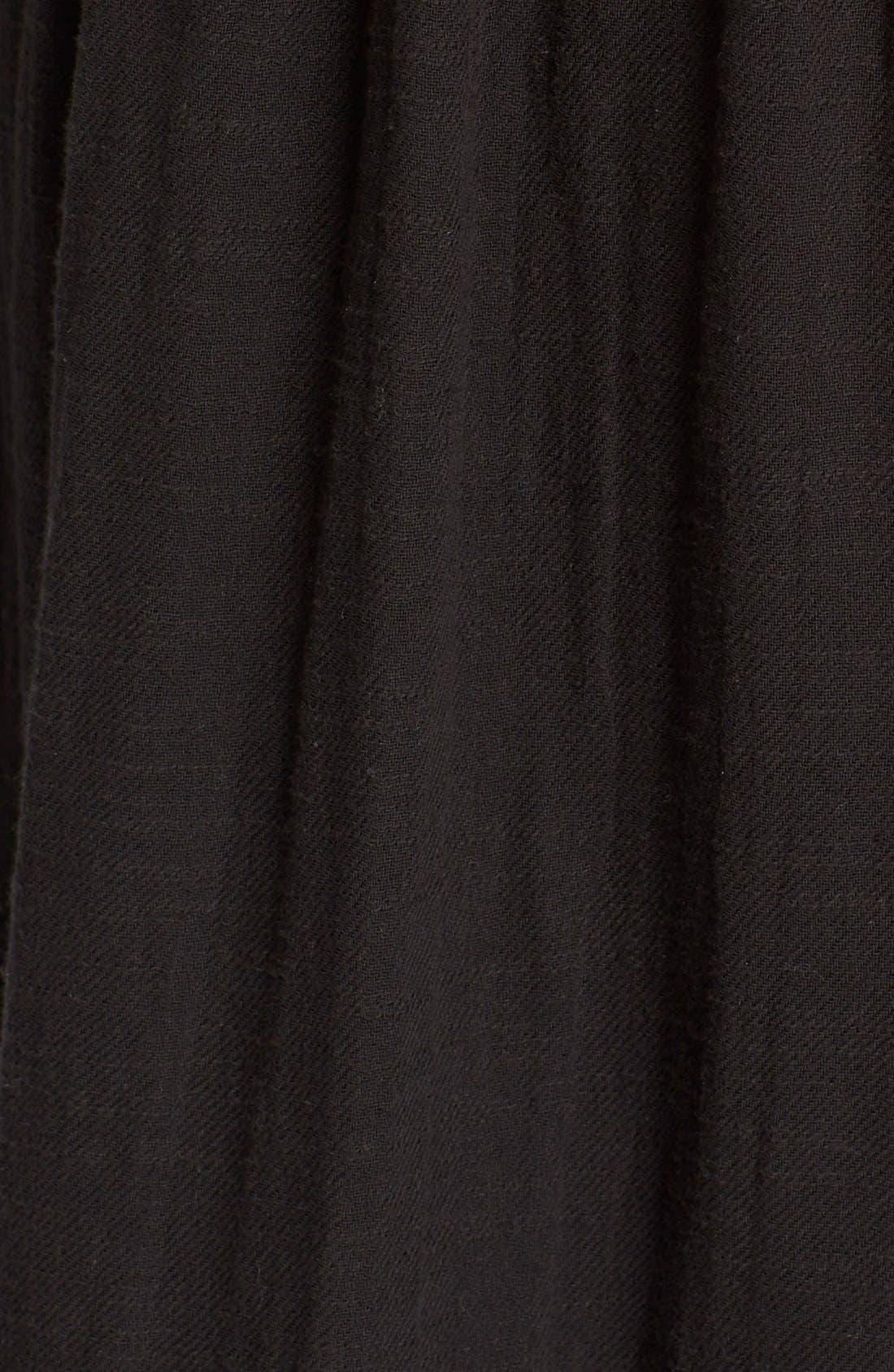 'Ojai' Cotton Midi Dress,                             Alternate thumbnail 5, color,                             001