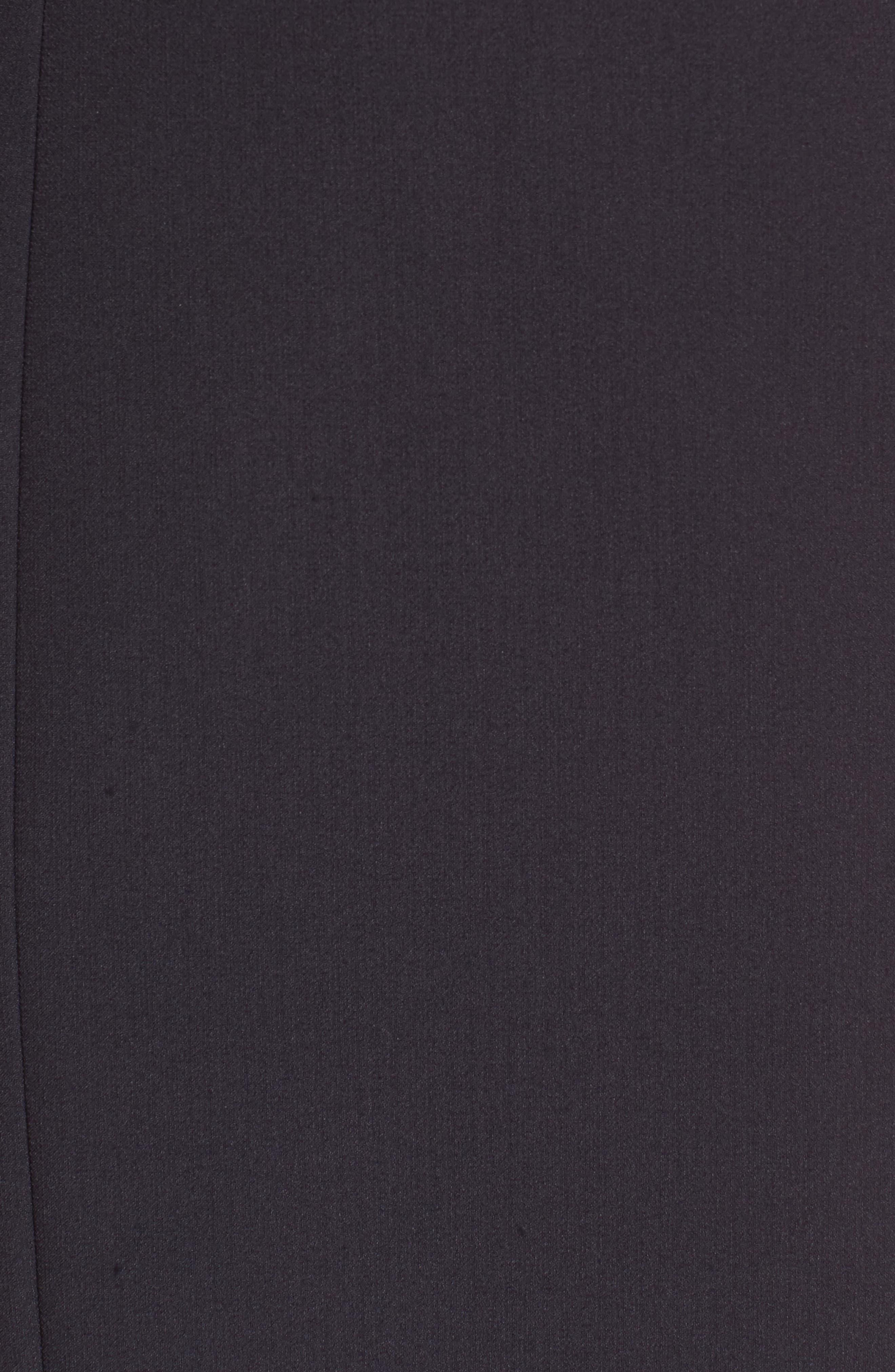 Bell Sleeve Sheath Dress,                             Alternate thumbnail 5, color,                             001