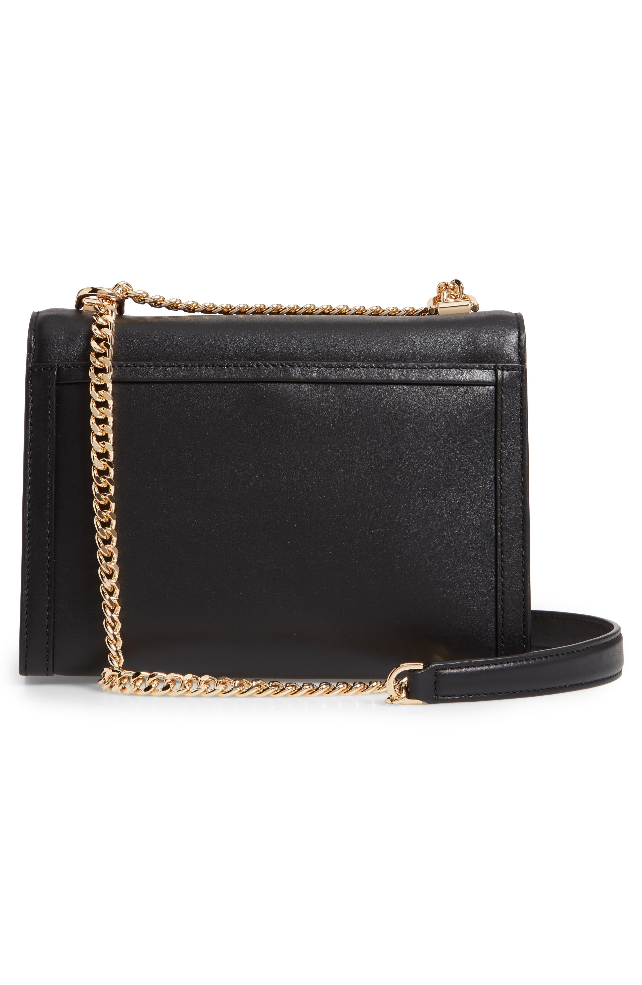 MICHAEL MICHAEL KORS,                             Large Whitney Leather Shoulder Bag,                             Alternate thumbnail 3, color,                             BLACK