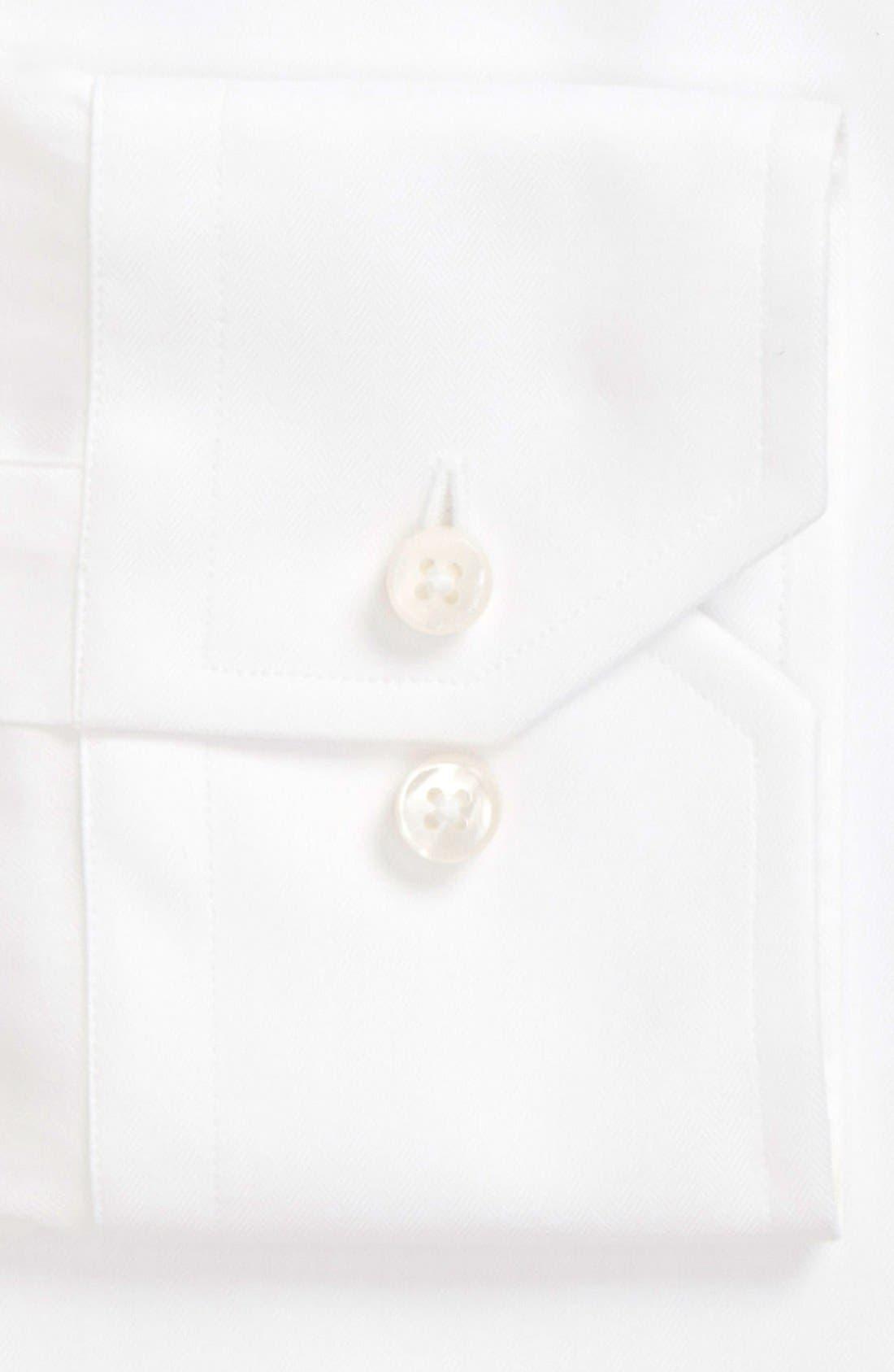 Classic Fit Solid Dress Shirt,                             Alternate thumbnail 2, color,                             110