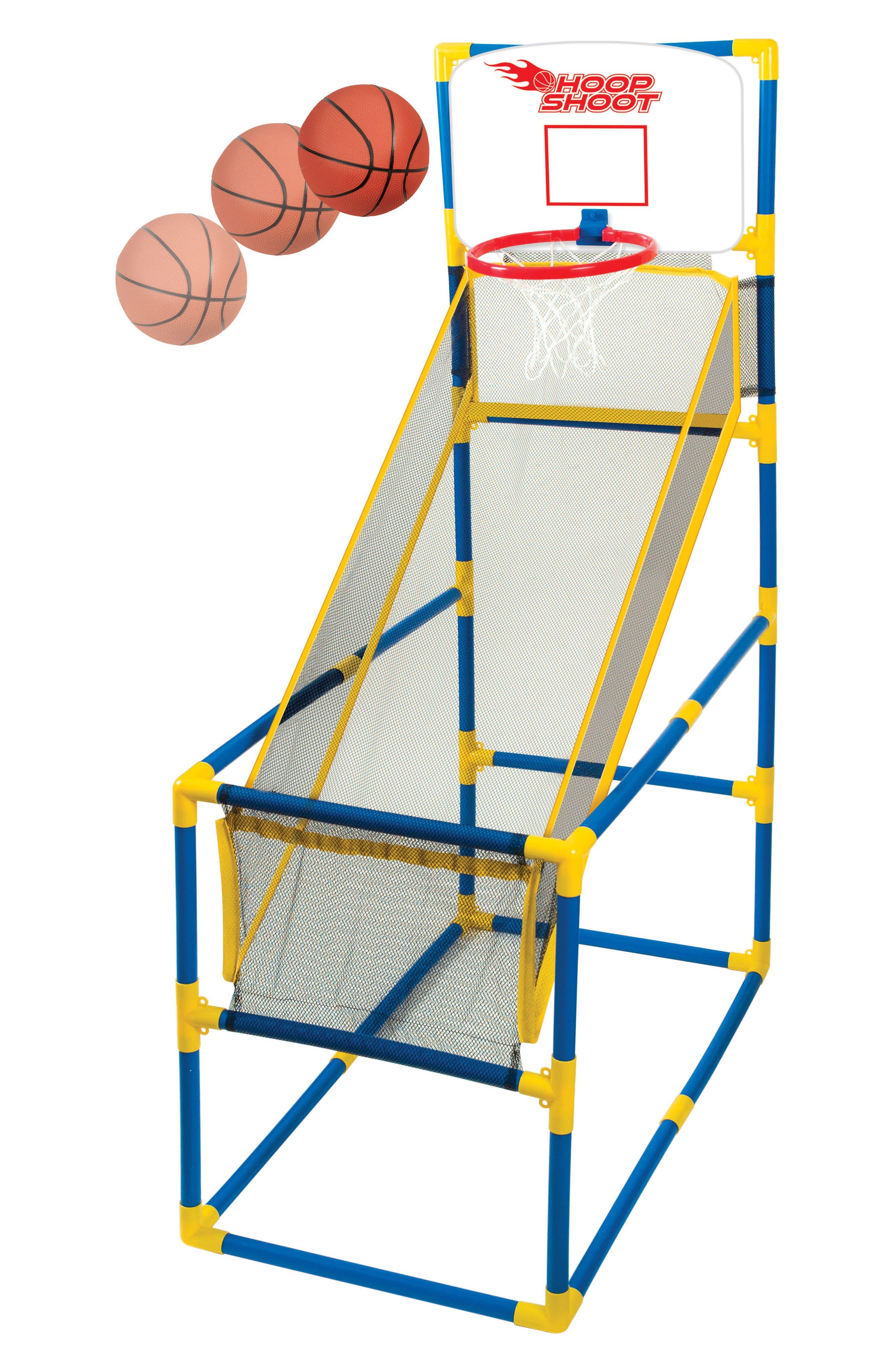 Hoop Shoot Basketball Play Set,                             Alternate thumbnail 5, color,