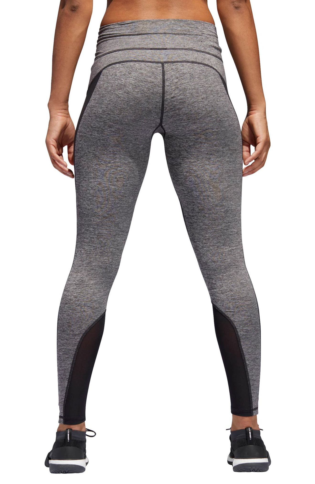 VFA Climalite<sup>®</sup> High Waist Tights,                             Alternate thumbnail 2, color,                             001