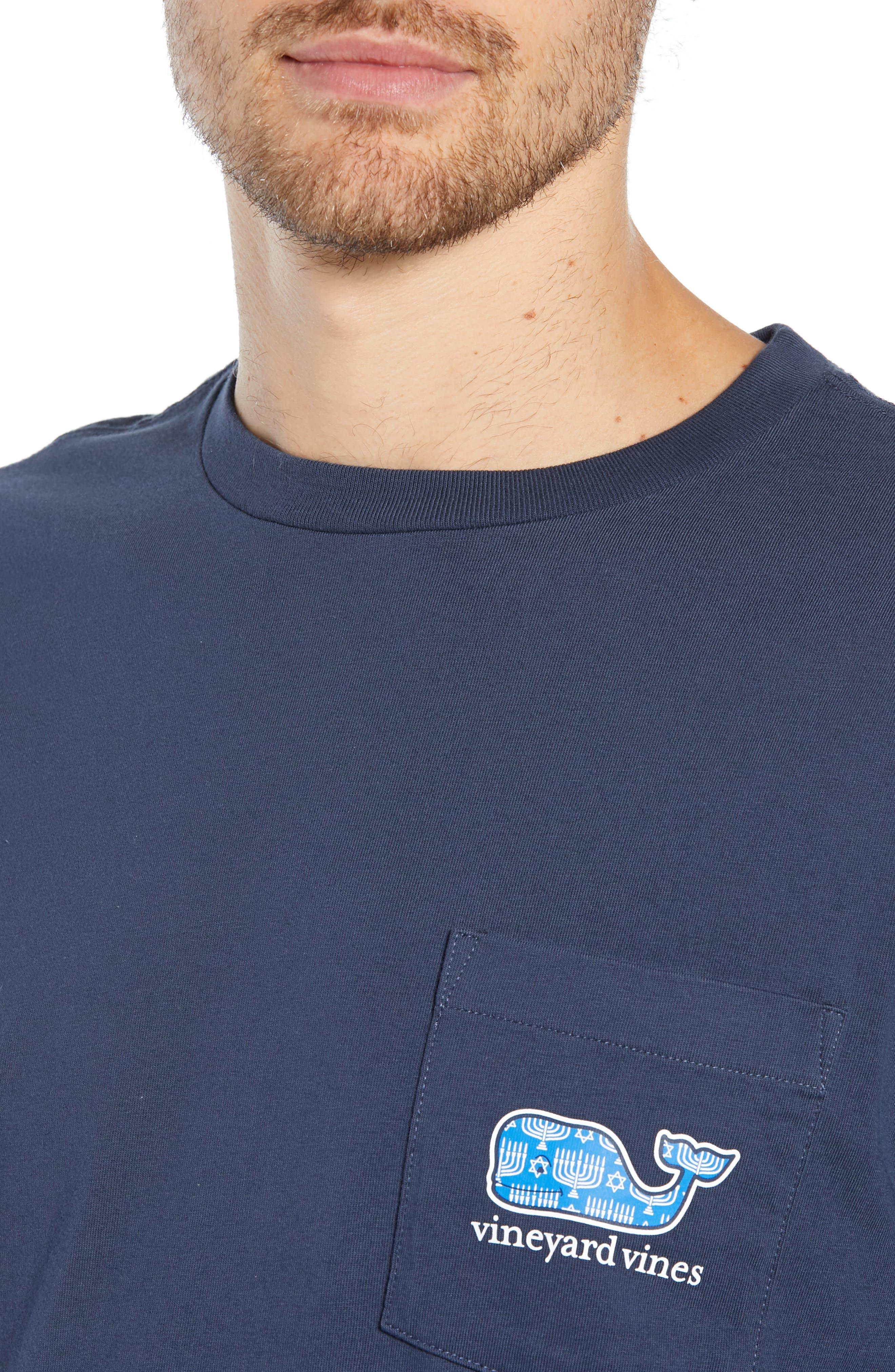 Hannukah Graphic T-Shirt,                             Alternate thumbnail 4, color,                             406