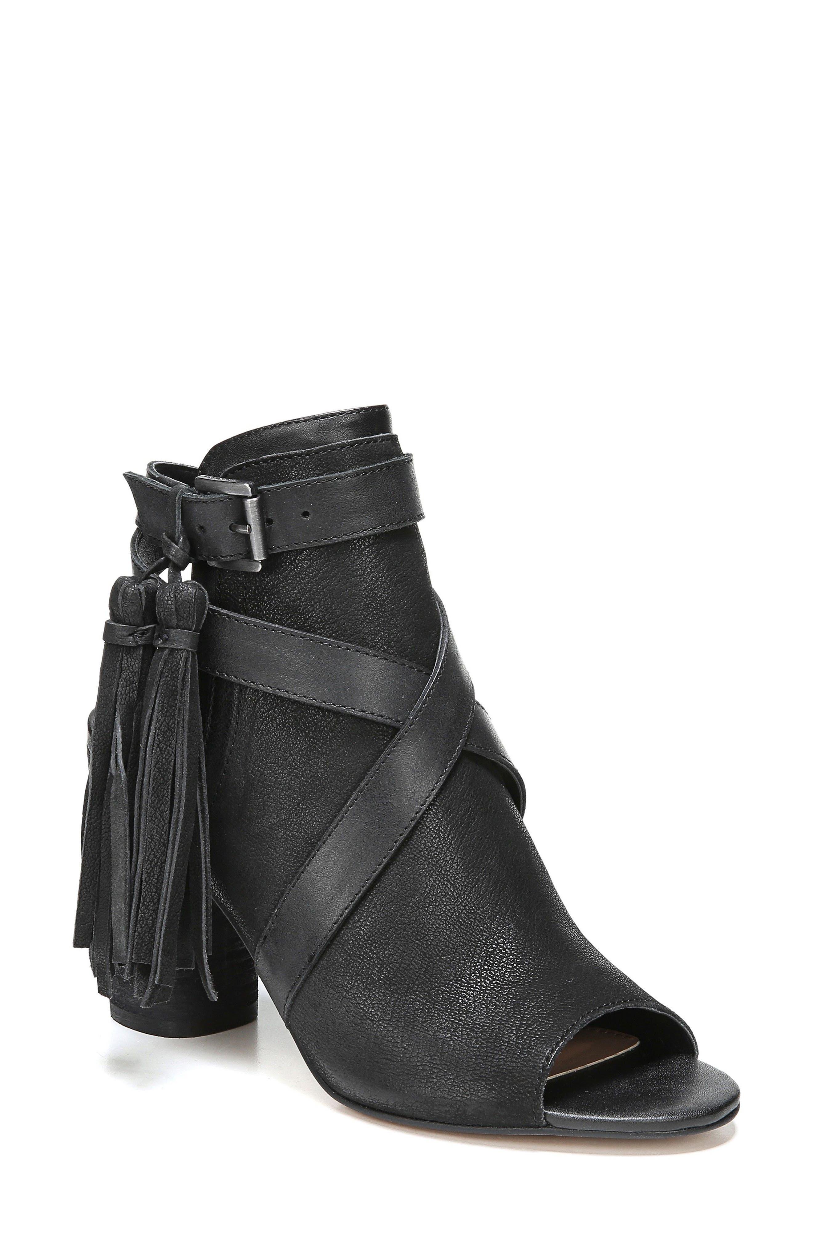 Vermont Block Heel Sandal,                             Main thumbnail 1, color,                             001