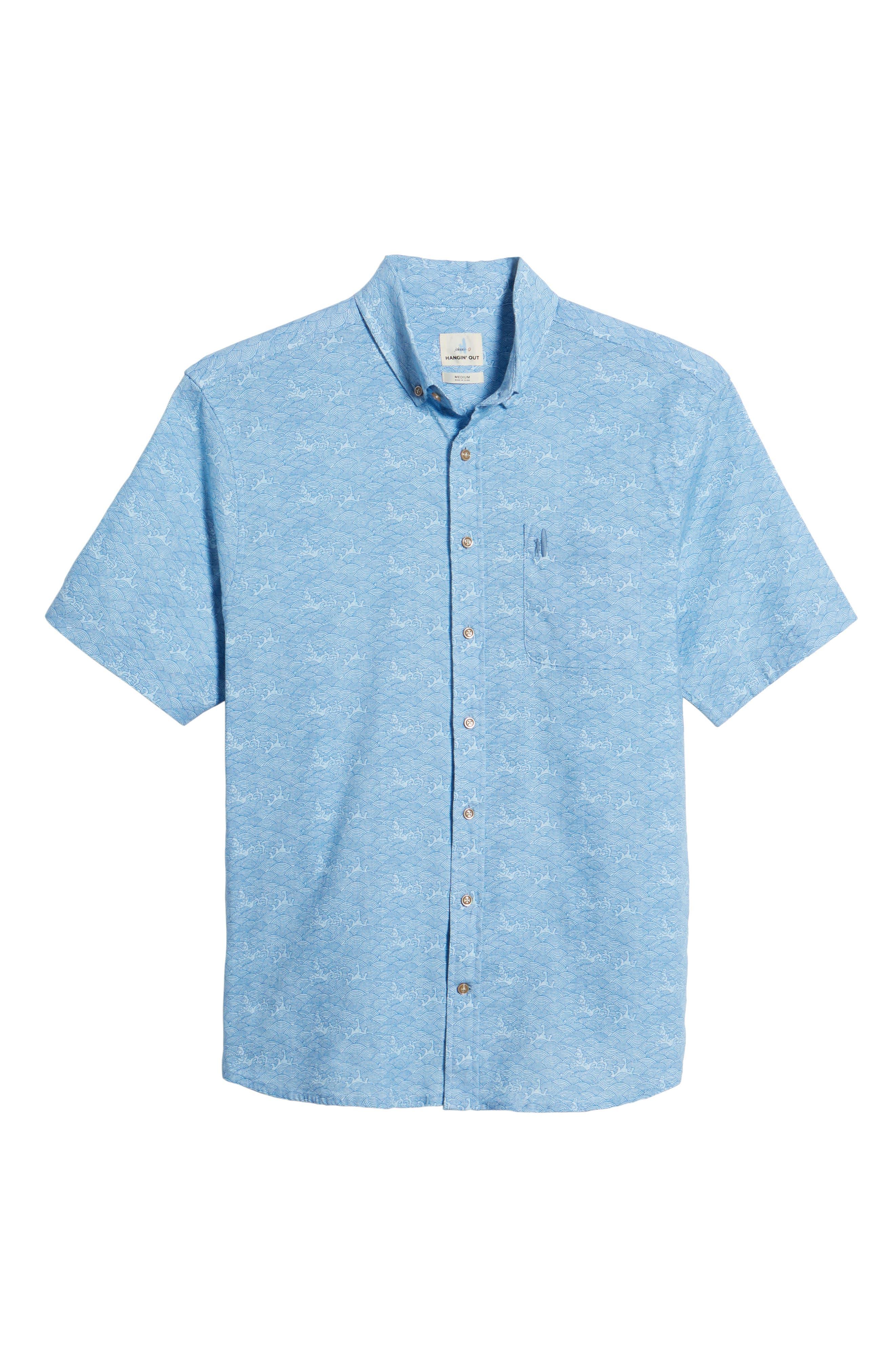 Cole Regular Fit Sport Shirt,                             Alternate thumbnail 6, color,