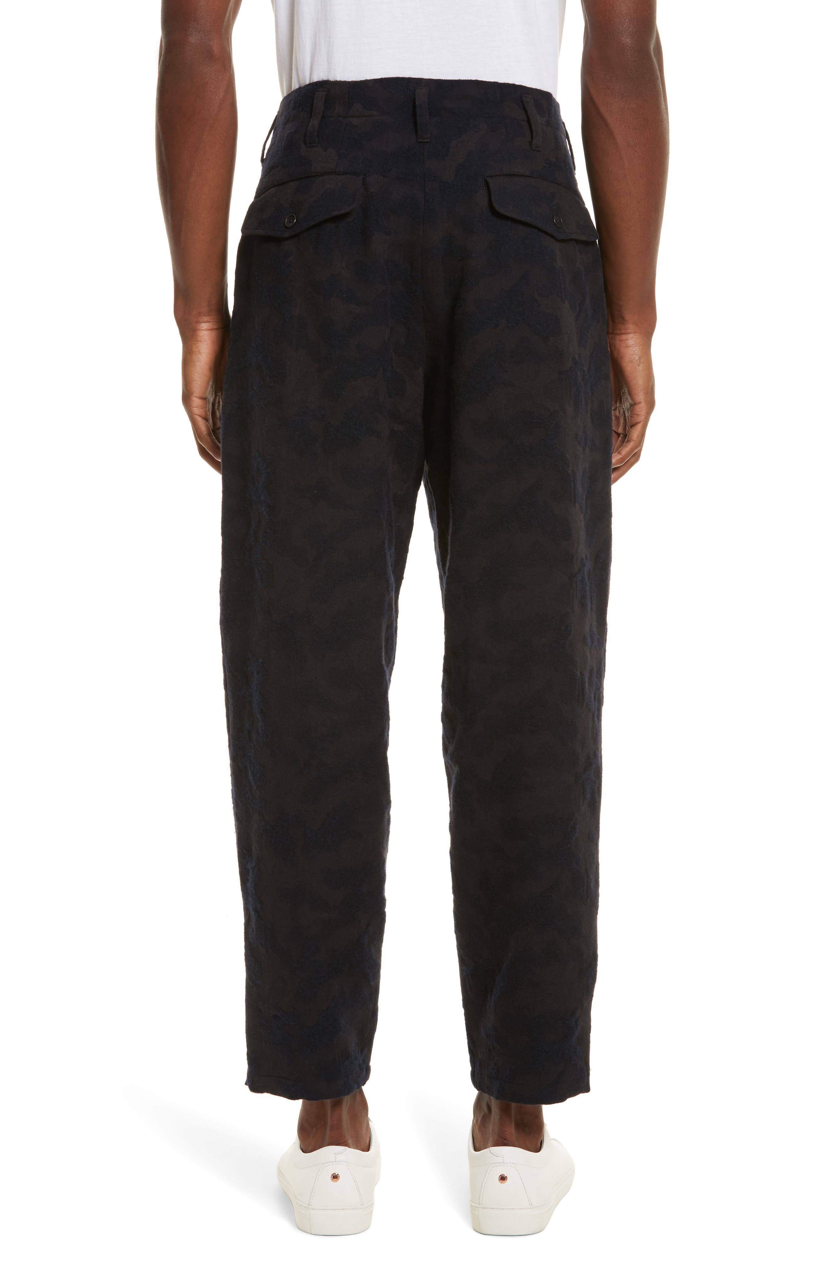 Camo Crop Pants,                             Alternate thumbnail 2, color,                             410