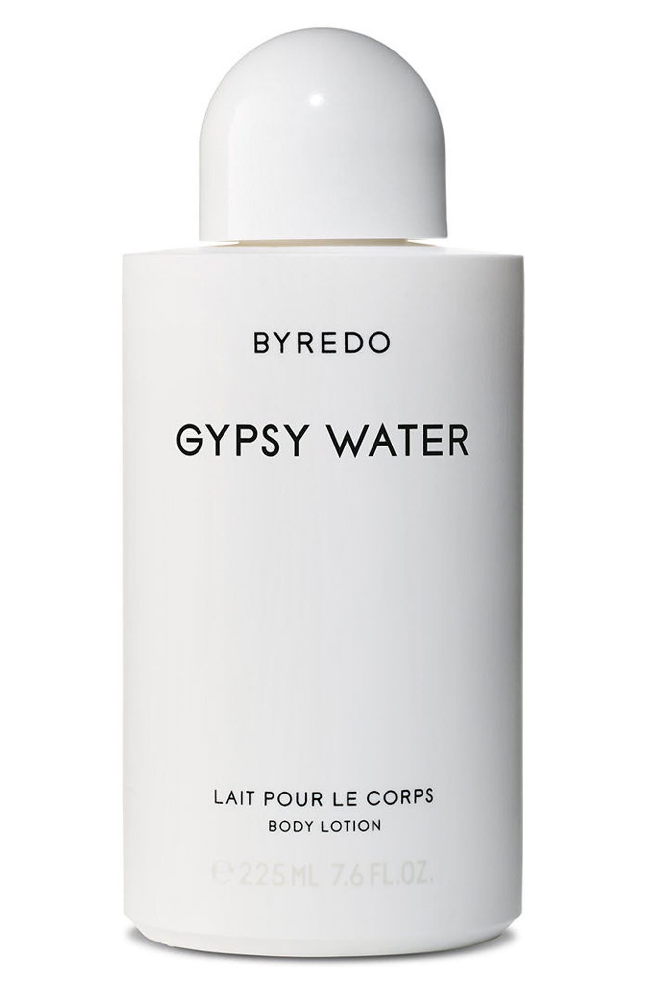 Gypsy Water Body Lotion,                             Main thumbnail 1, color,                             NO COLOR