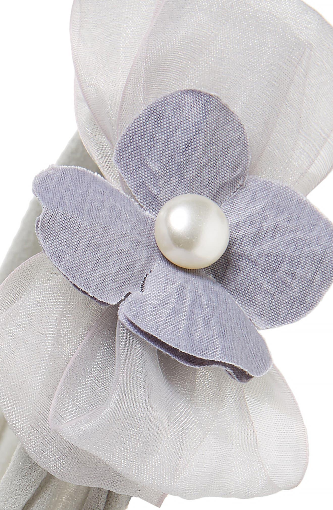 Pearly Headband,                             Alternate thumbnail 4, color,