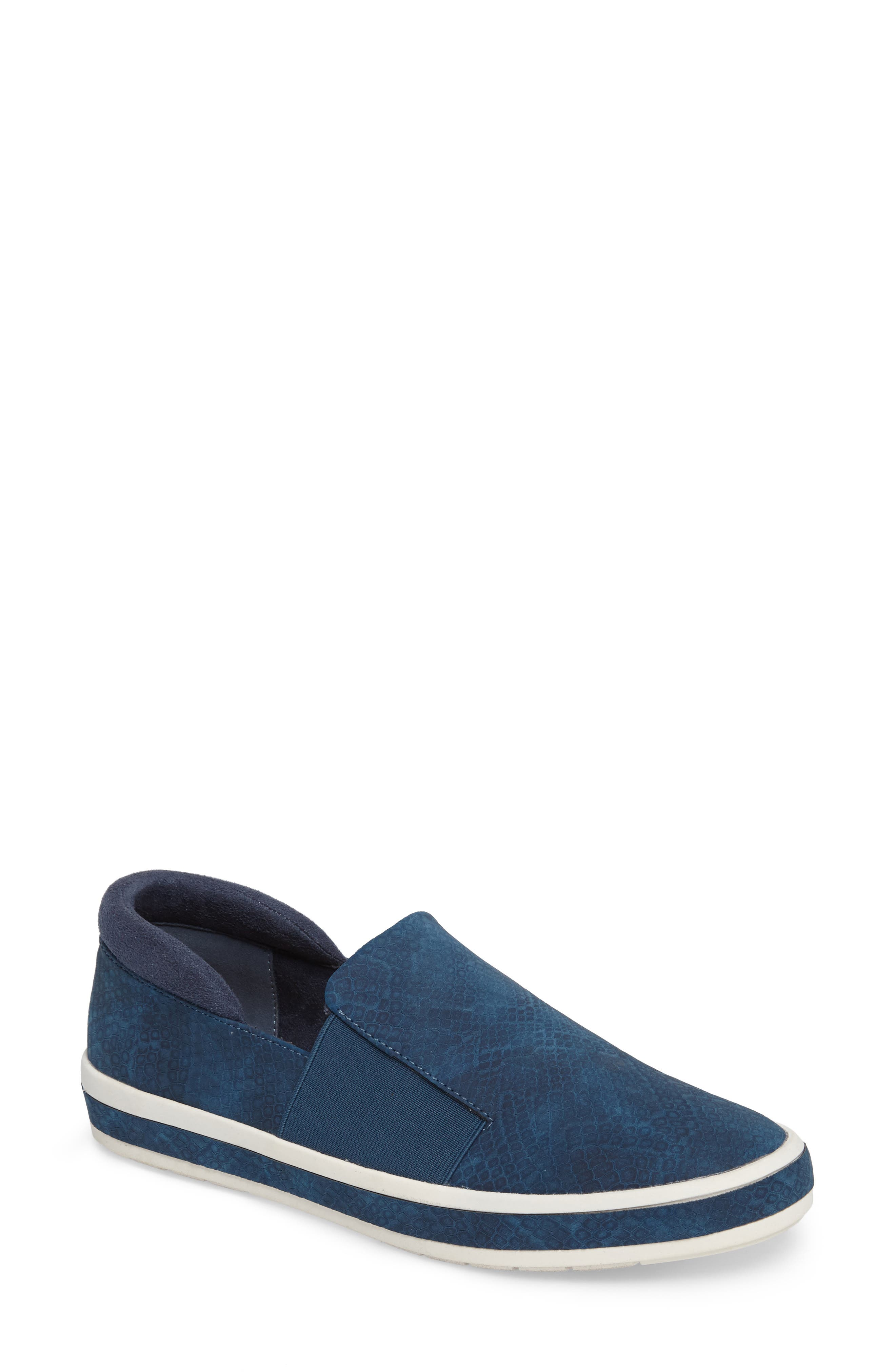 Switch II Slip-On Sneaker,                         Main,                         color, NAVY PRINTED LEATHER