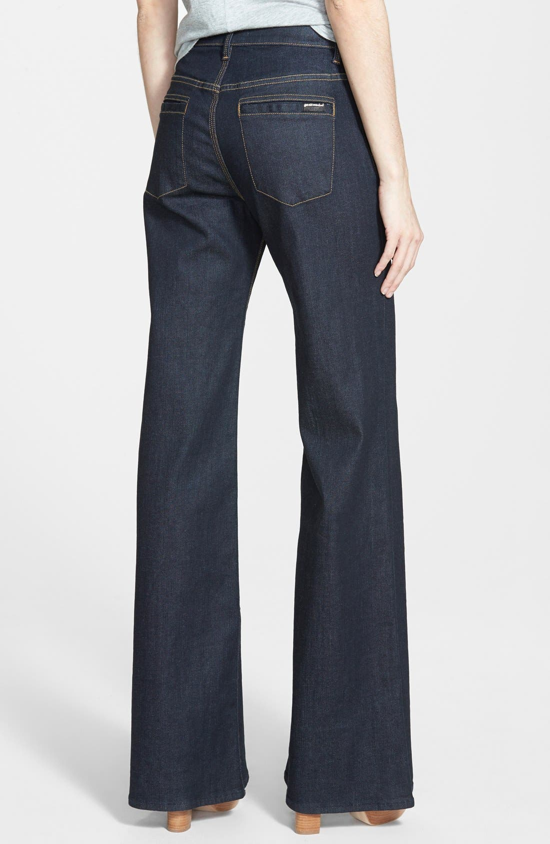 High Rise Flare Jeans,                             Alternate thumbnail 2, color,                             406