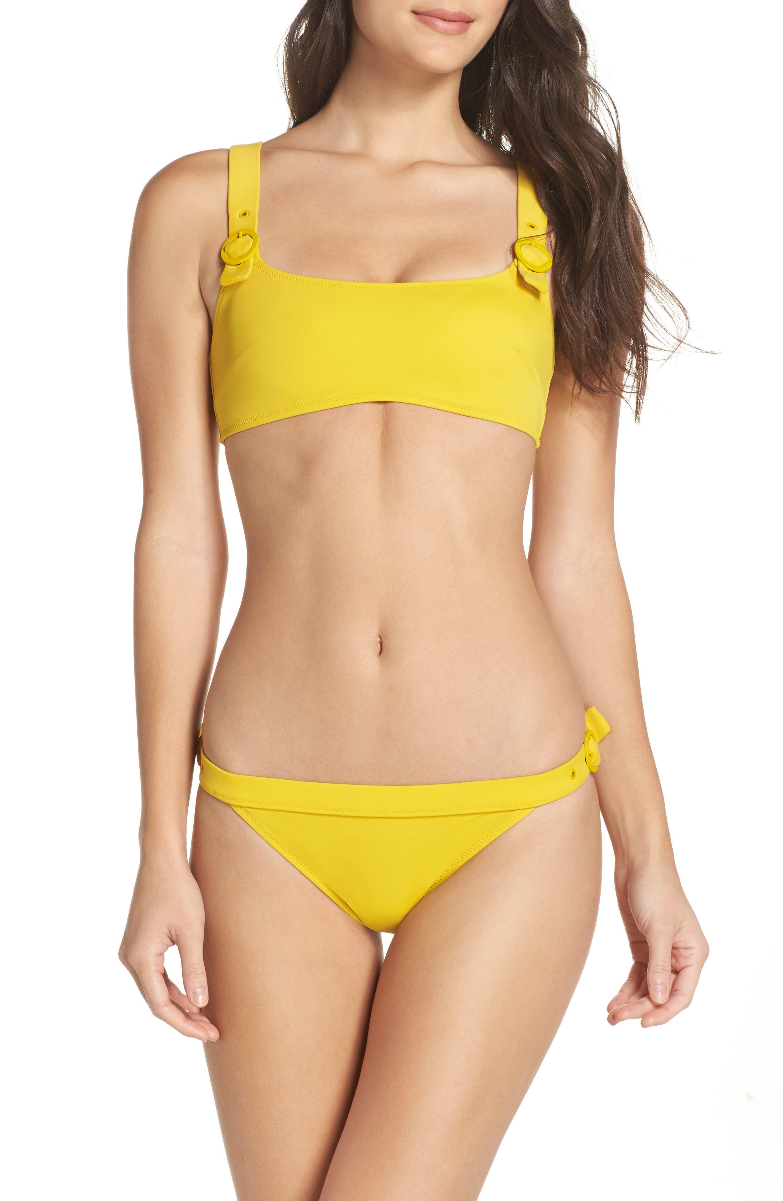 The Evelyn Bikini Top,                             Alternate thumbnail 7, color,