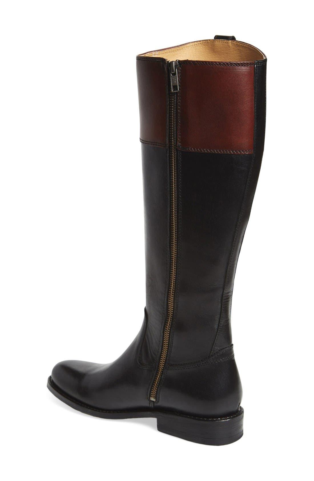 'JaydenButton' Tall Boot,                             Alternate thumbnail 10, color,