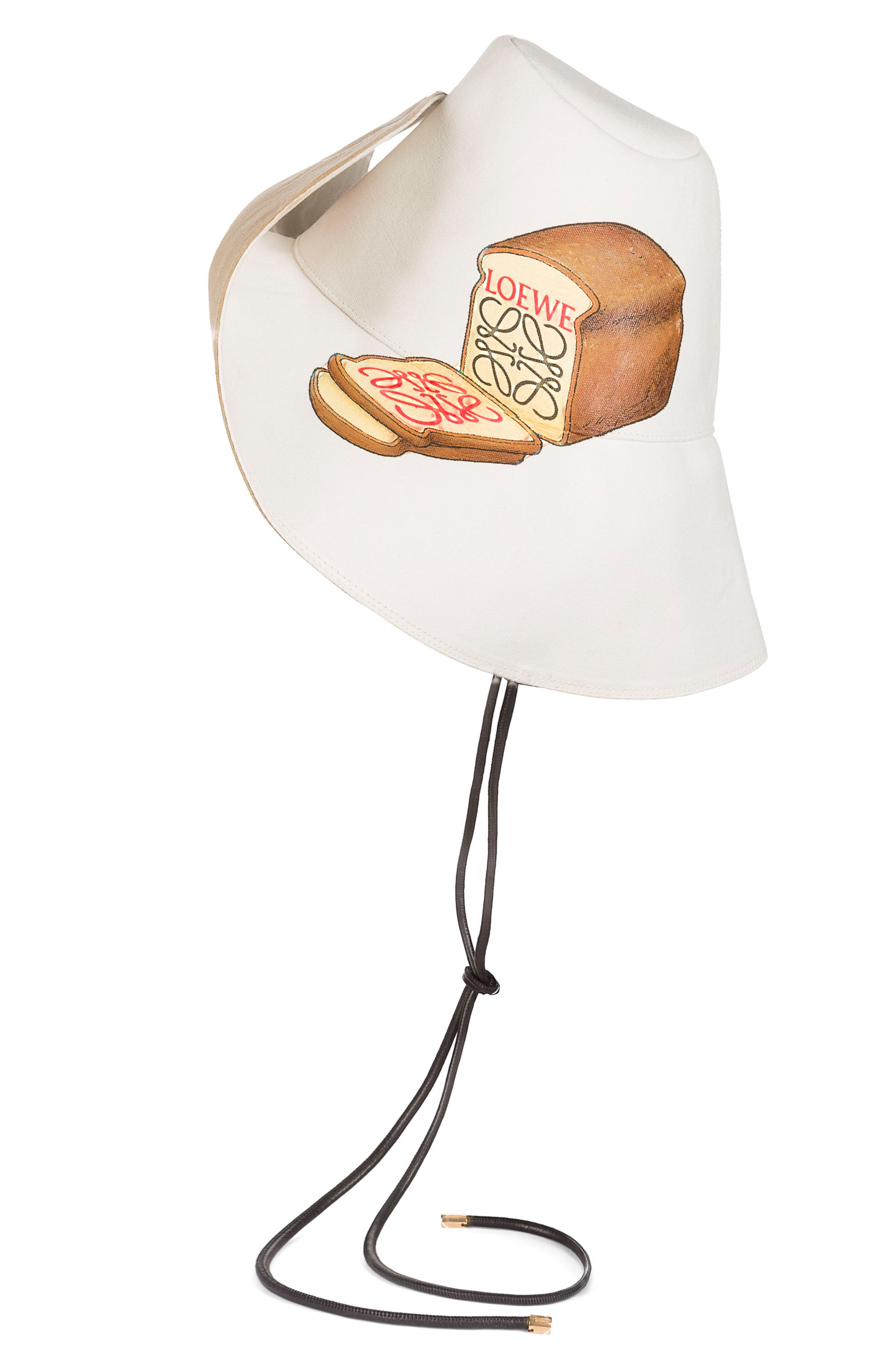 LOEWE,                             Toast Hat,                             Alternate thumbnail 3, color,                             286