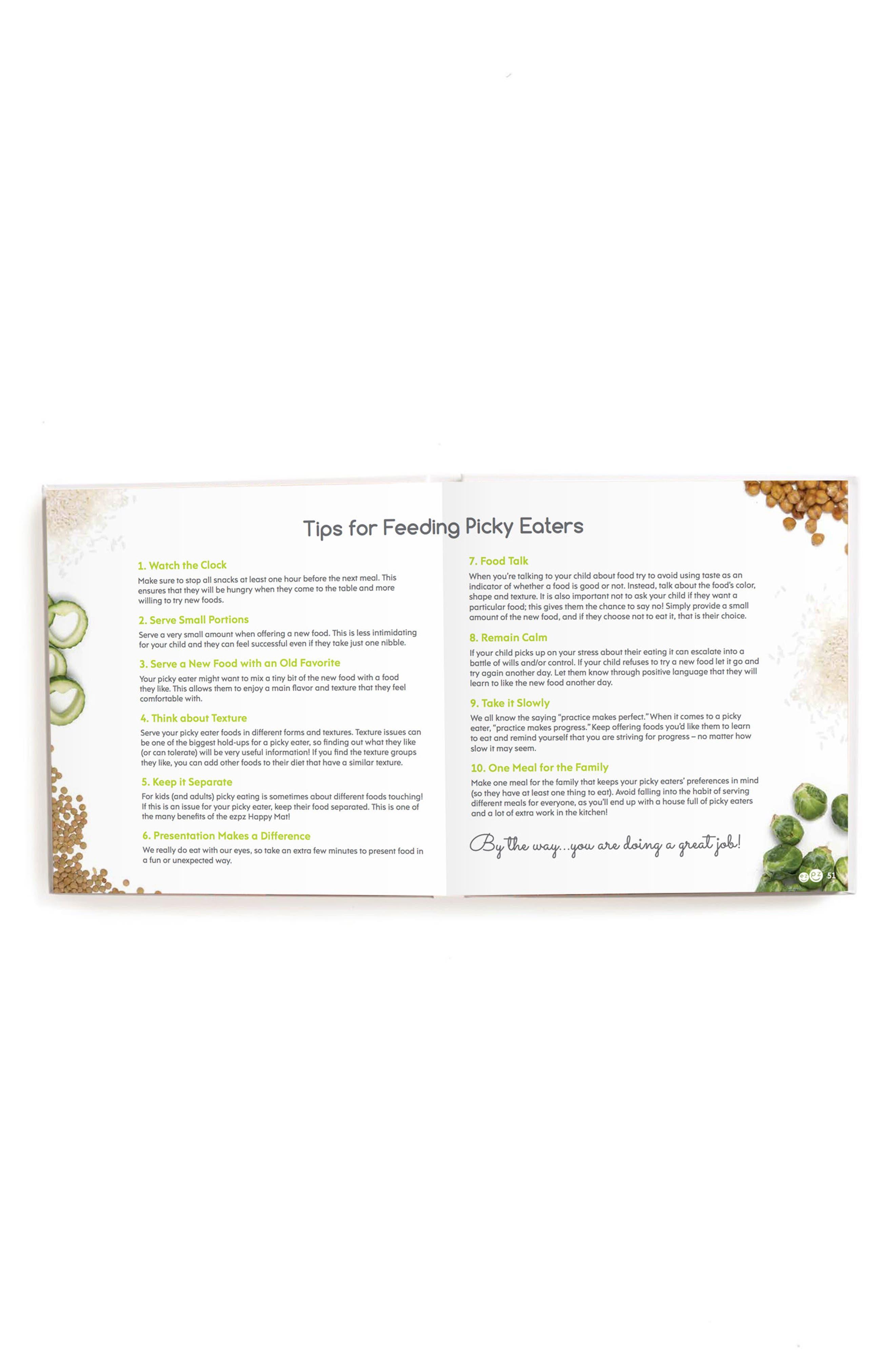 EZPZ,                             Making Mealtime ezpz: Fun Ways to Fill the Happy Mat Book,                             Alternate thumbnail 2, color,                             100