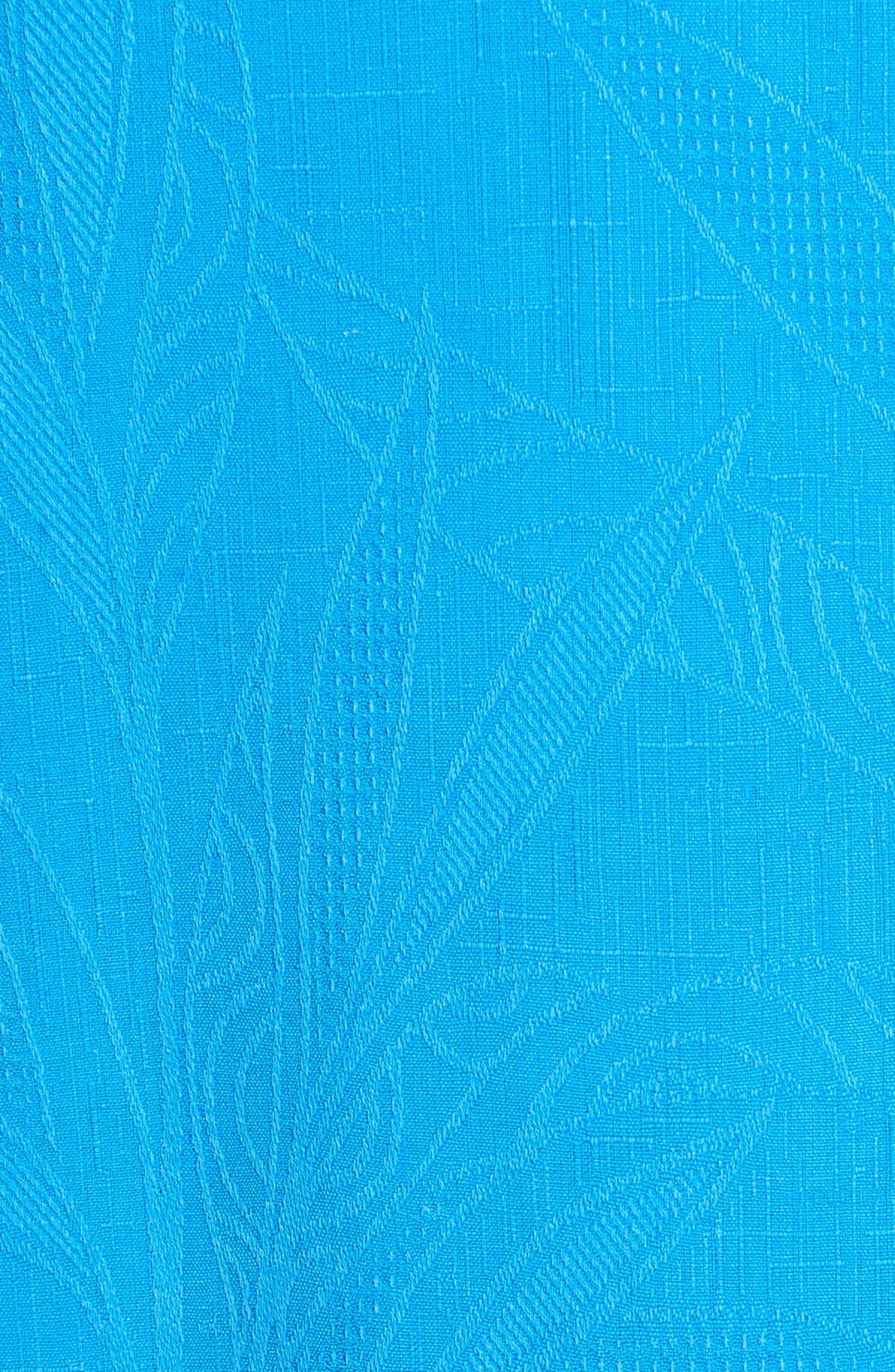 Islander Fronds Silk Camp Shirt,                             Alternate thumbnail 41, color,