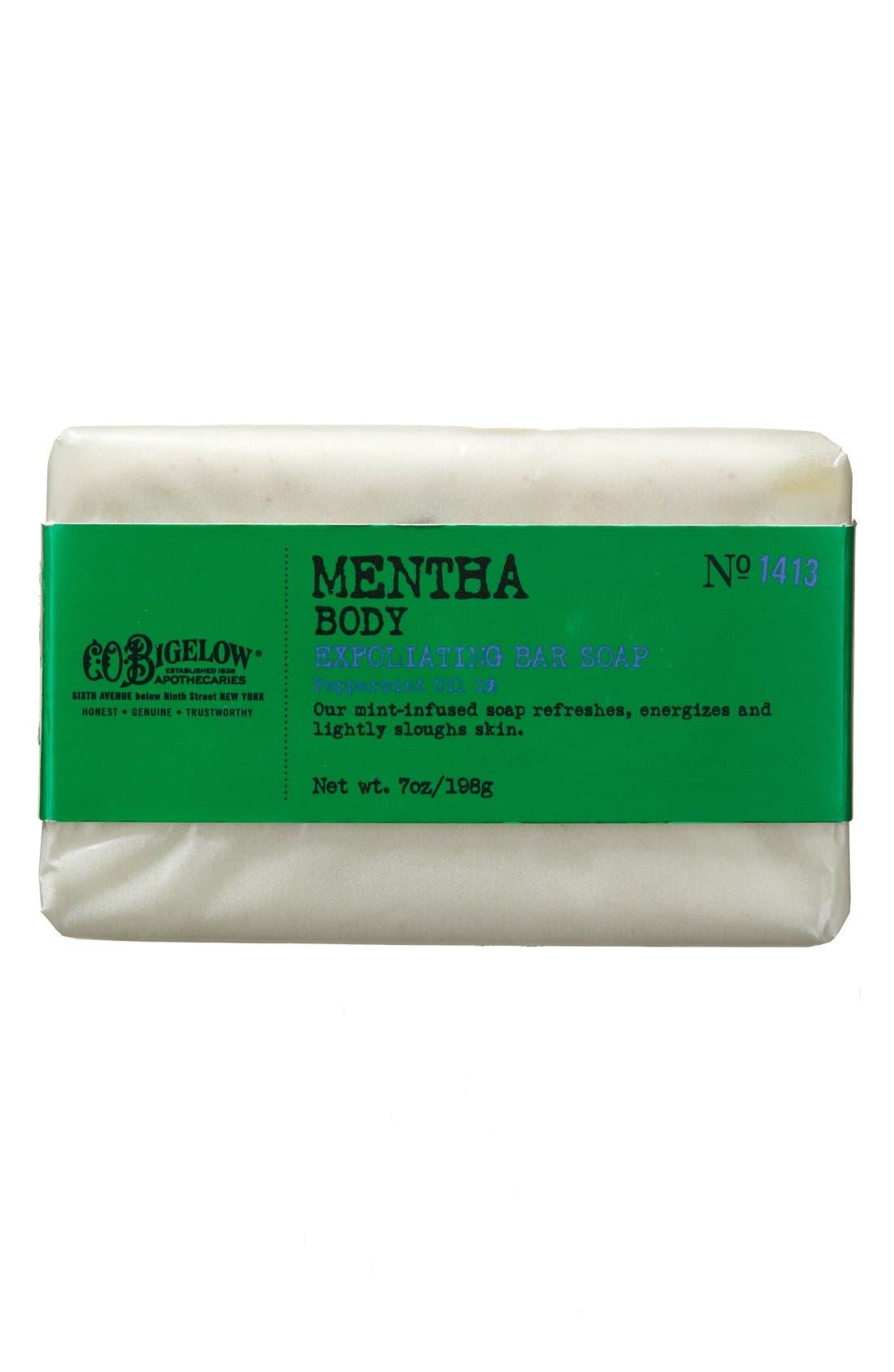 Mentha Exfoliating Soap,                             Main thumbnail 1, color,                             000