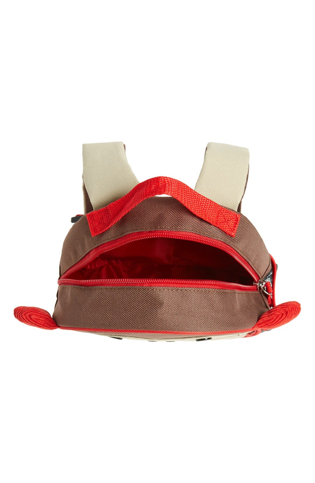 'Zoo' Safety Harness Backpack,                             Alternate thumbnail 5, color,                             MONKEY