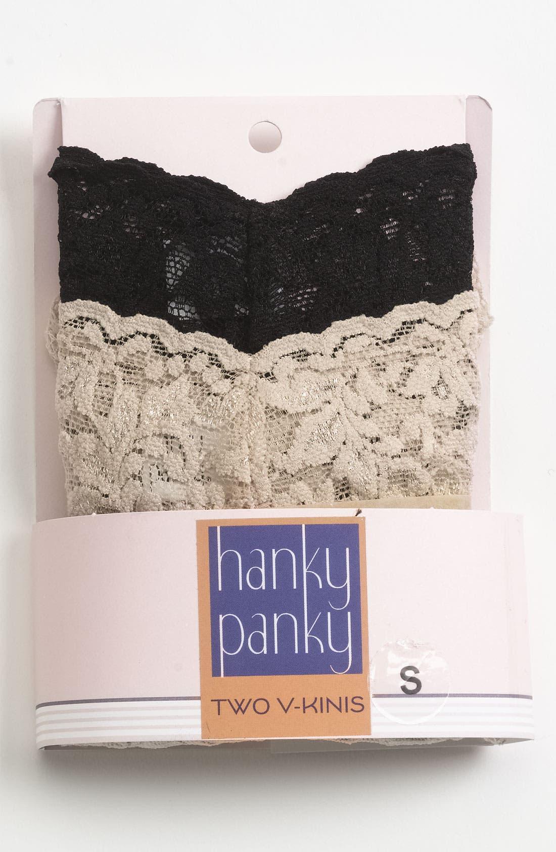 Signature Lace Vikini,                             Main thumbnail 1, color,                             BLACK/ CHAI