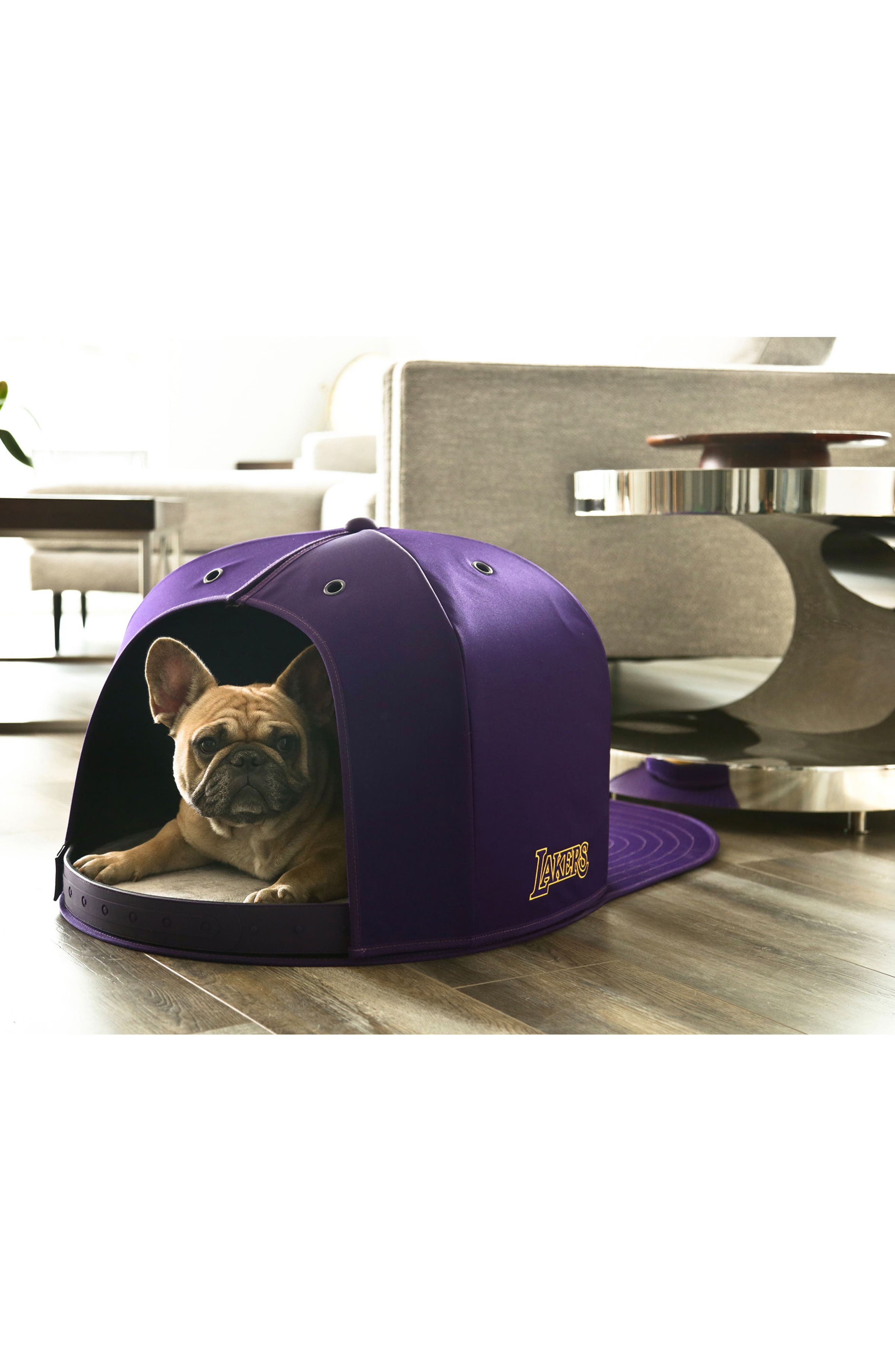 Los Angeles Lakers Pet Bed,                             Alternate thumbnail 5, color,                             500