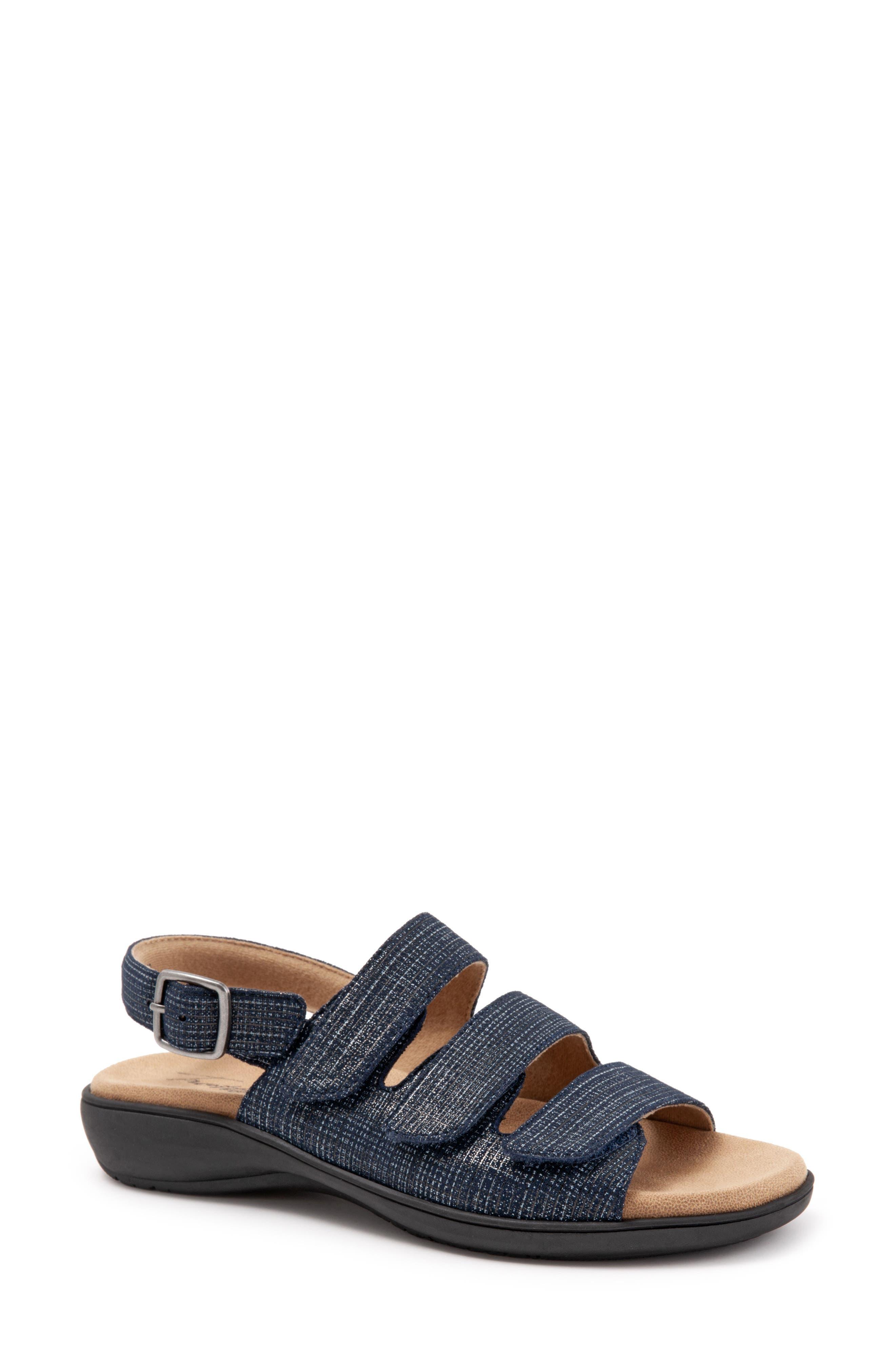 Trotters Vine Sandal W - Blue