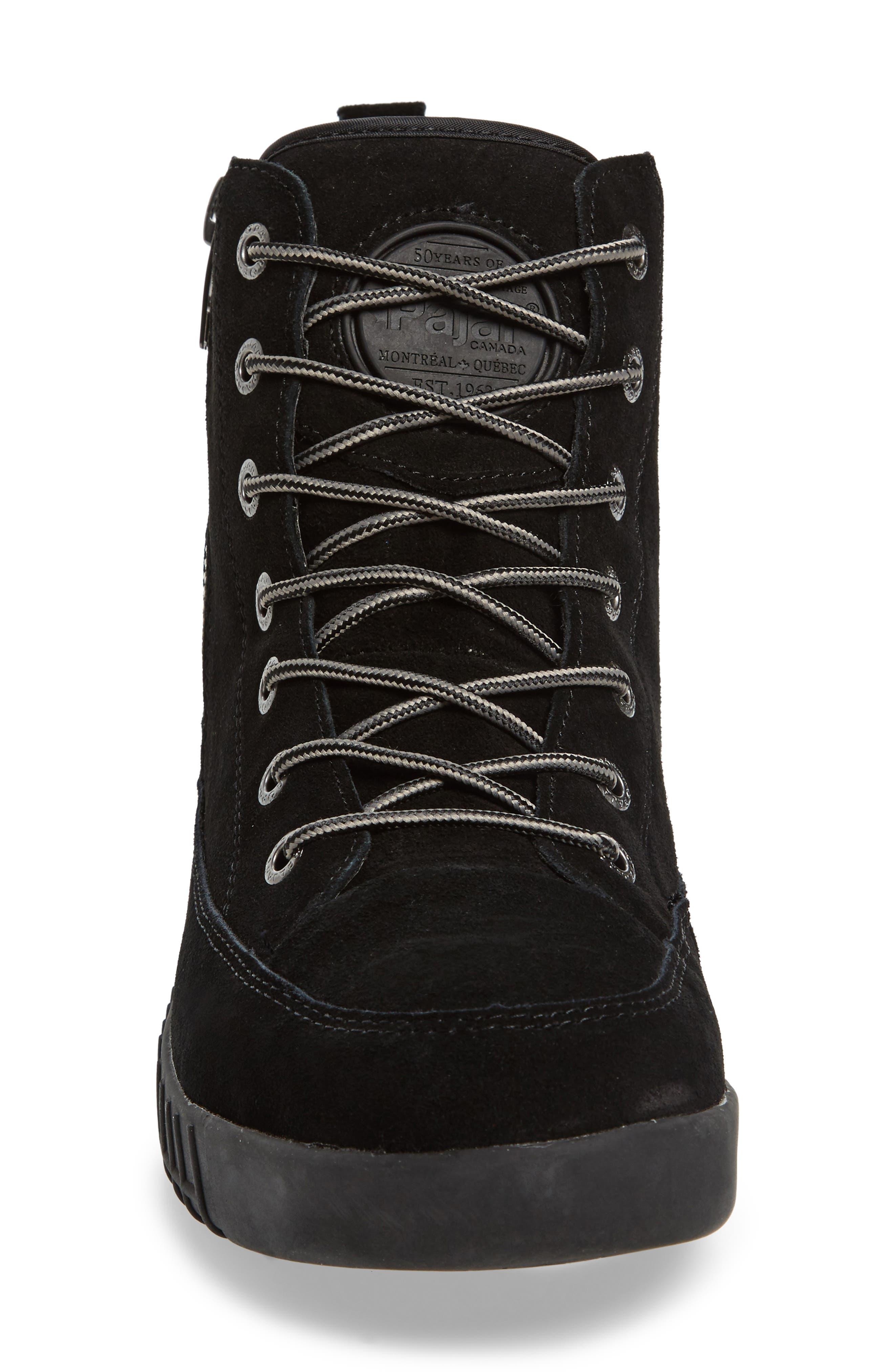 PAJAR,                             Parnell Waterproof Winter Sneaker,                             Alternate thumbnail 4, color,                             001