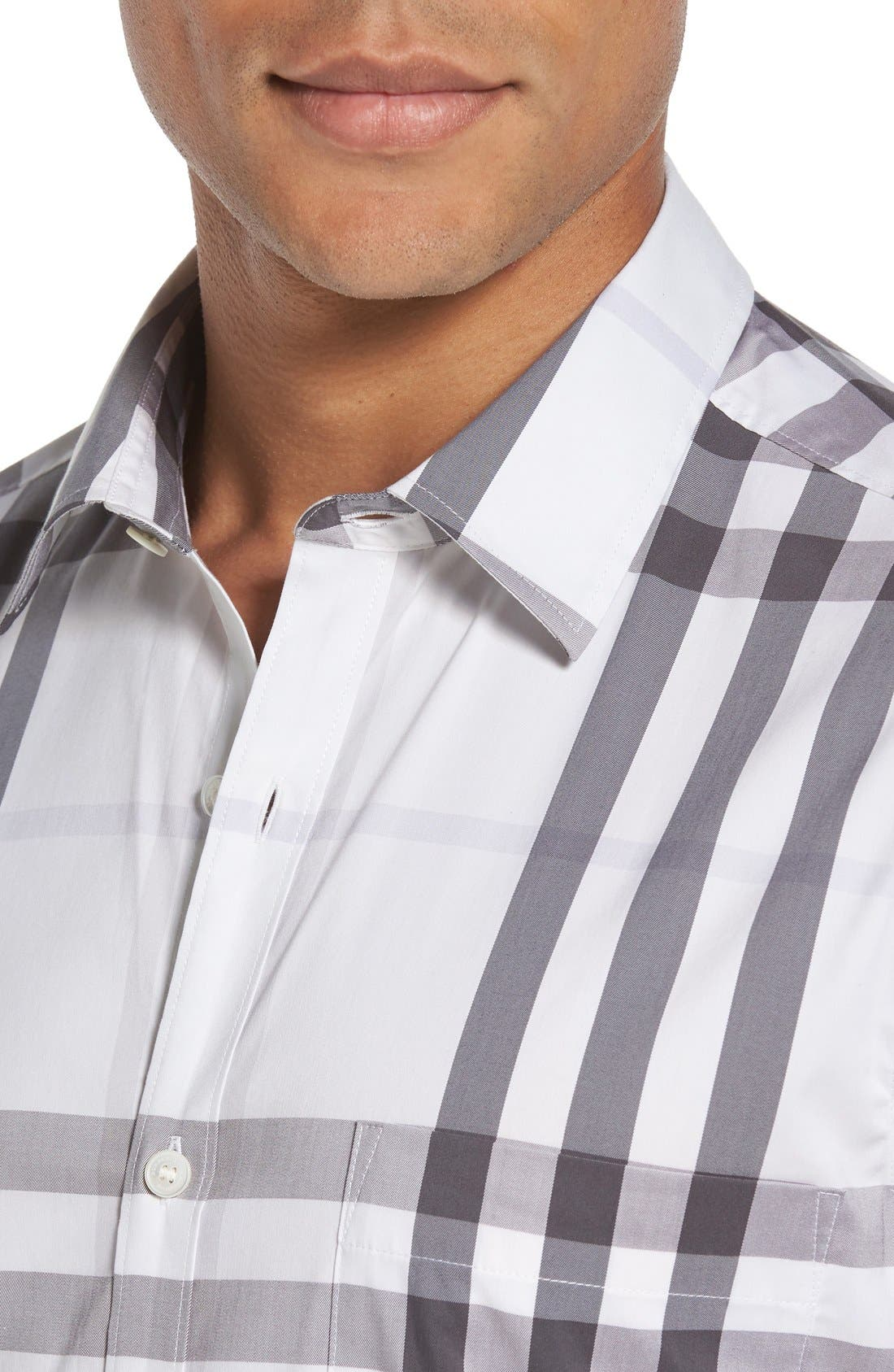 Nelson Check Sport Shirt,                             Alternate thumbnail 80, color,