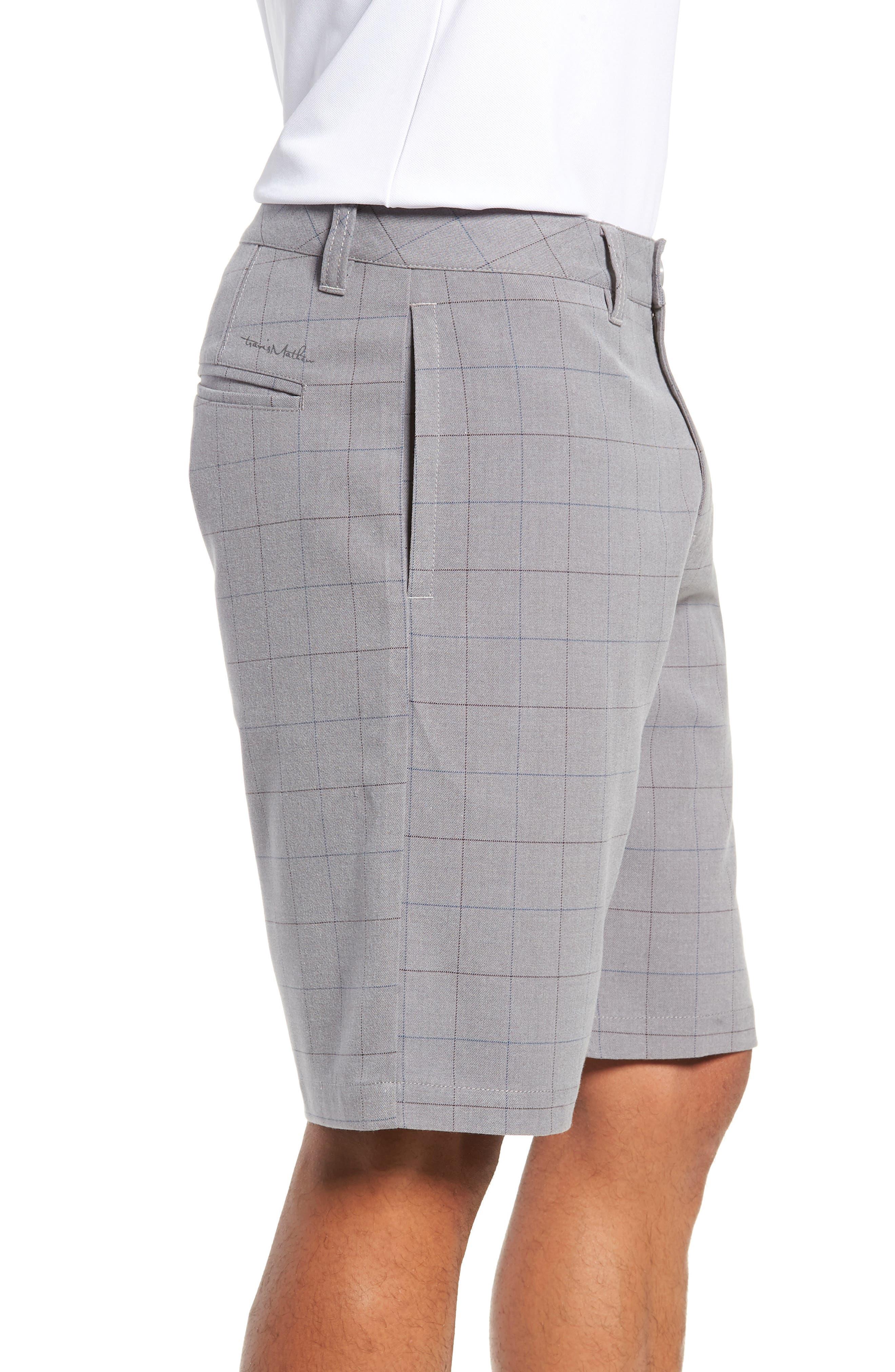 Rickles Regular Fit Shorts,                             Alternate thumbnail 3, color,                             HEATHER SHARKSKIN