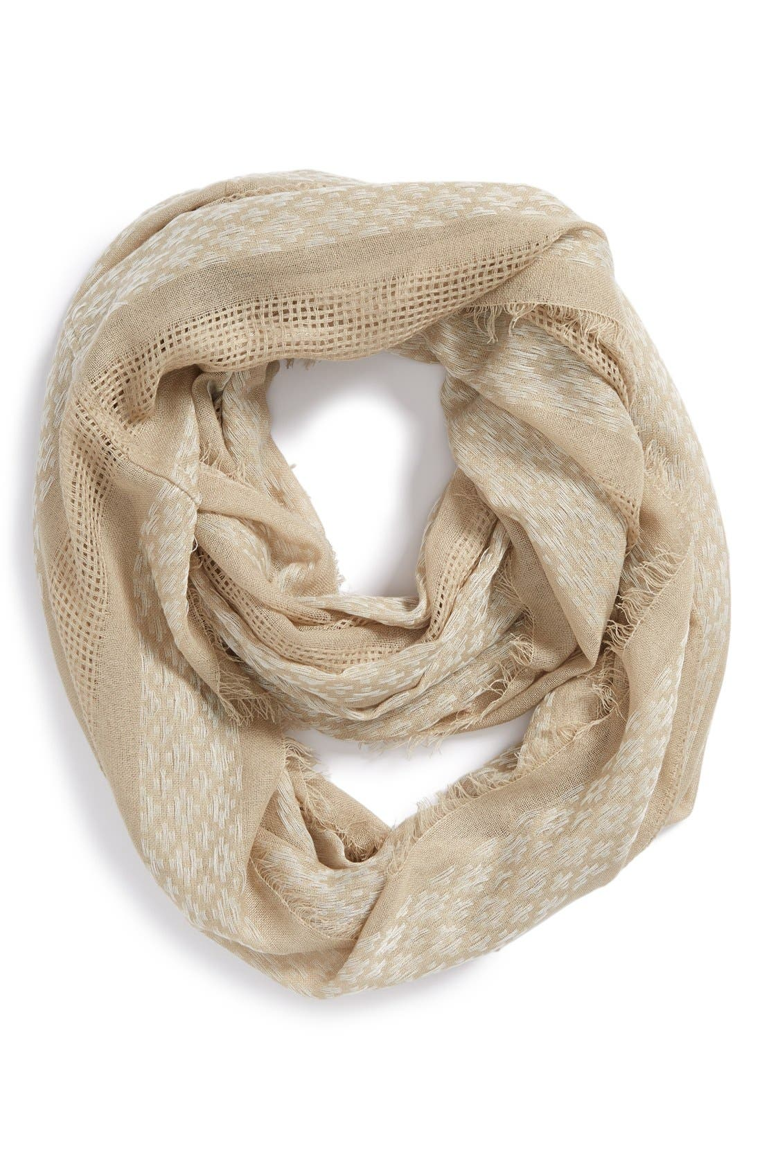 BP. Woven Infinity Scarf, Main, color, 200