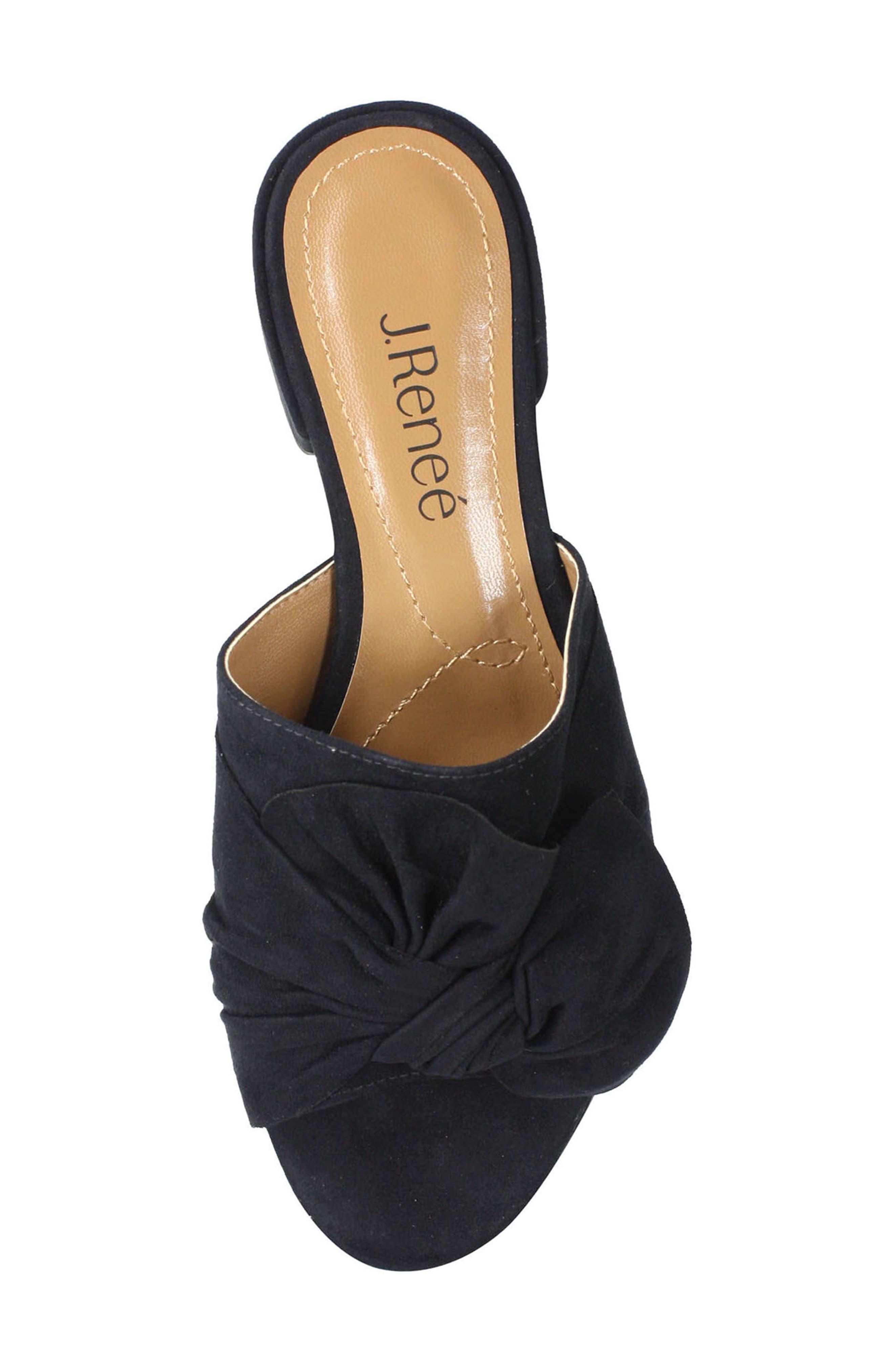Sattuck Slide Sandal,                             Alternate thumbnail 4, color,                             BLACK FABRIC