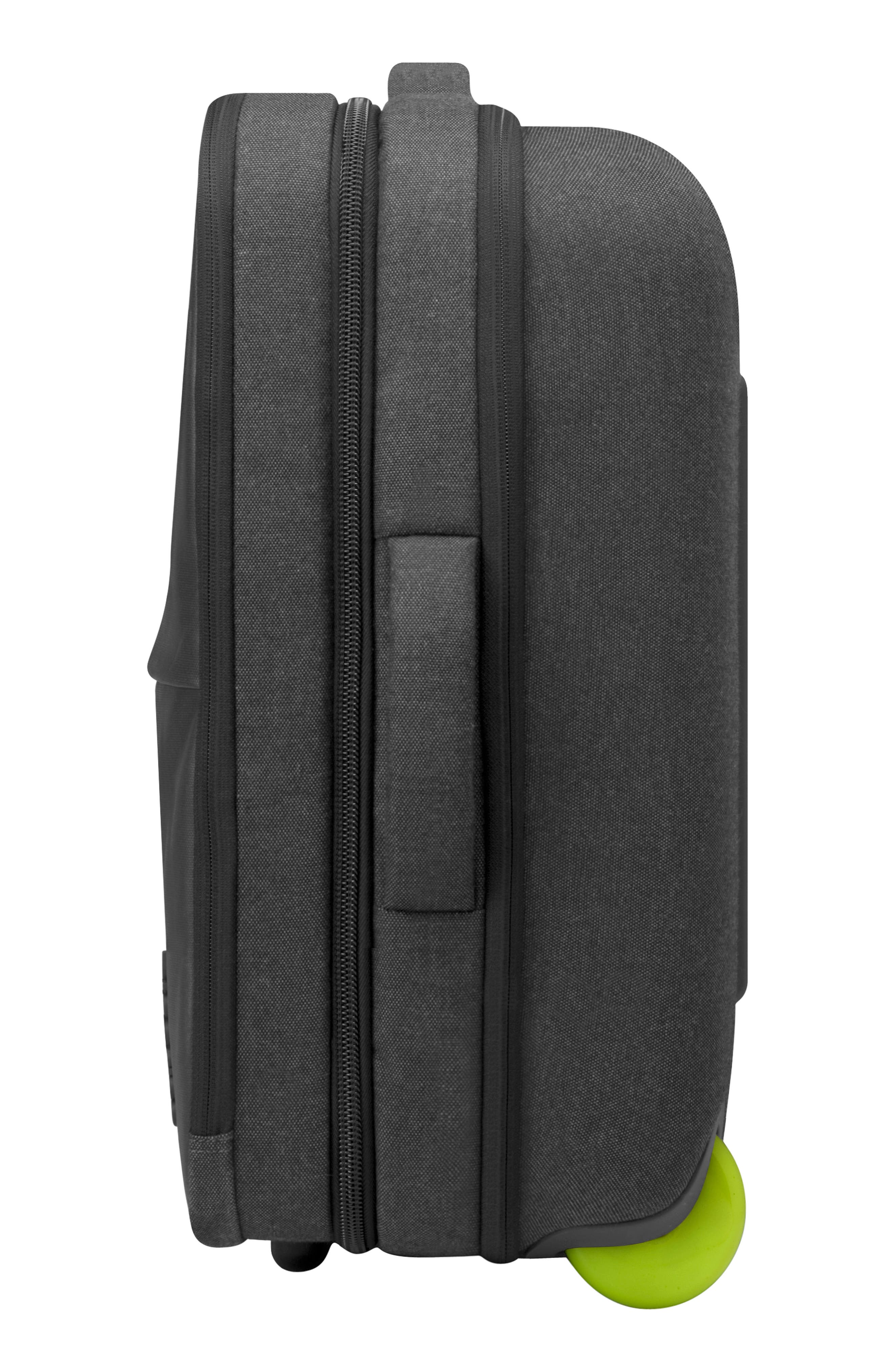 INCASE DESIGNS,                             EO Wheeled 24-Inch Suitcase,                             Alternate thumbnail 3, color,                             BLACK
