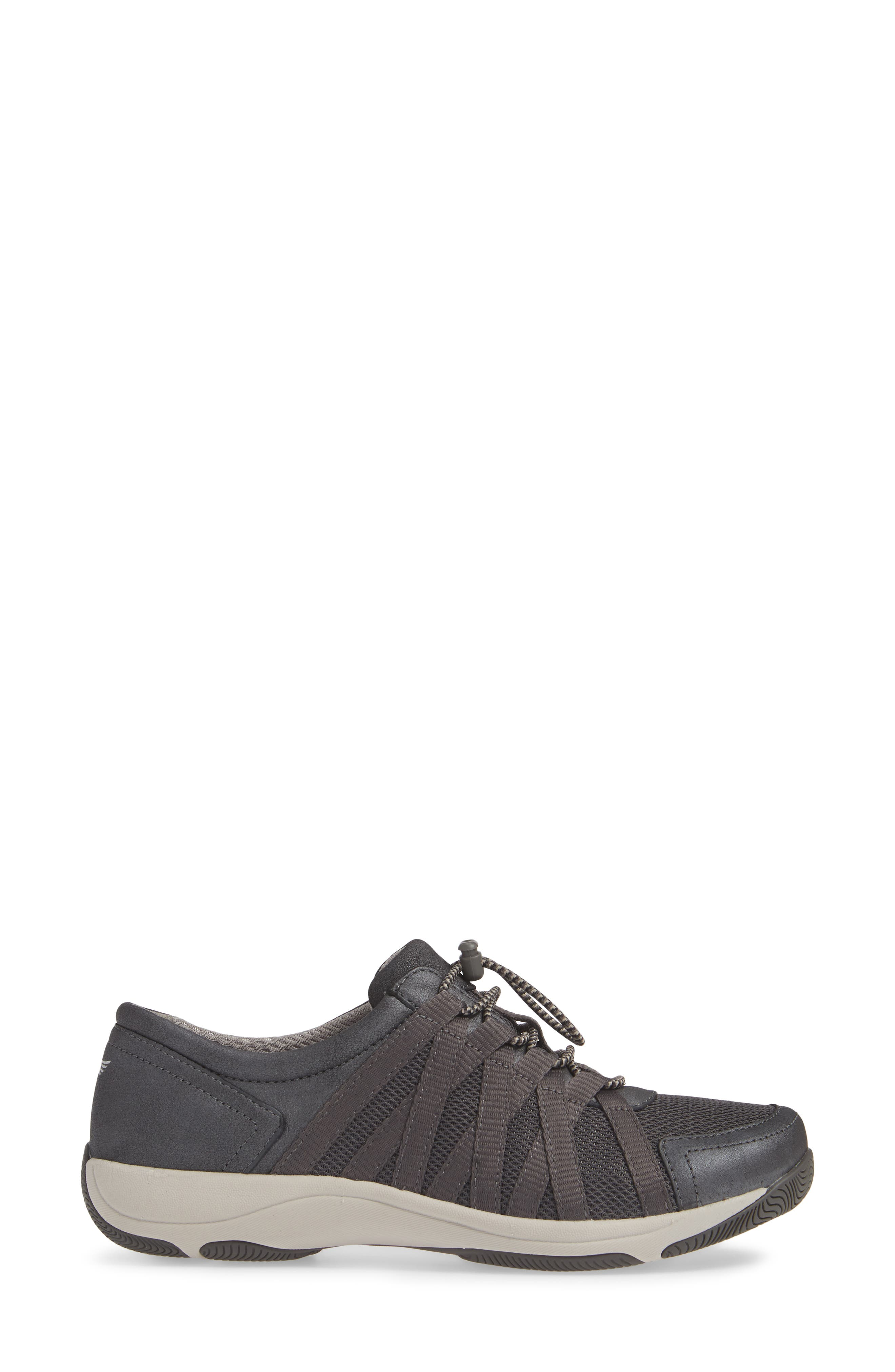 Halifax Collection Honor Sneaker,                             Alternate thumbnail 3, color,                             CHARCOAL/ CHARCOAL SUEDE