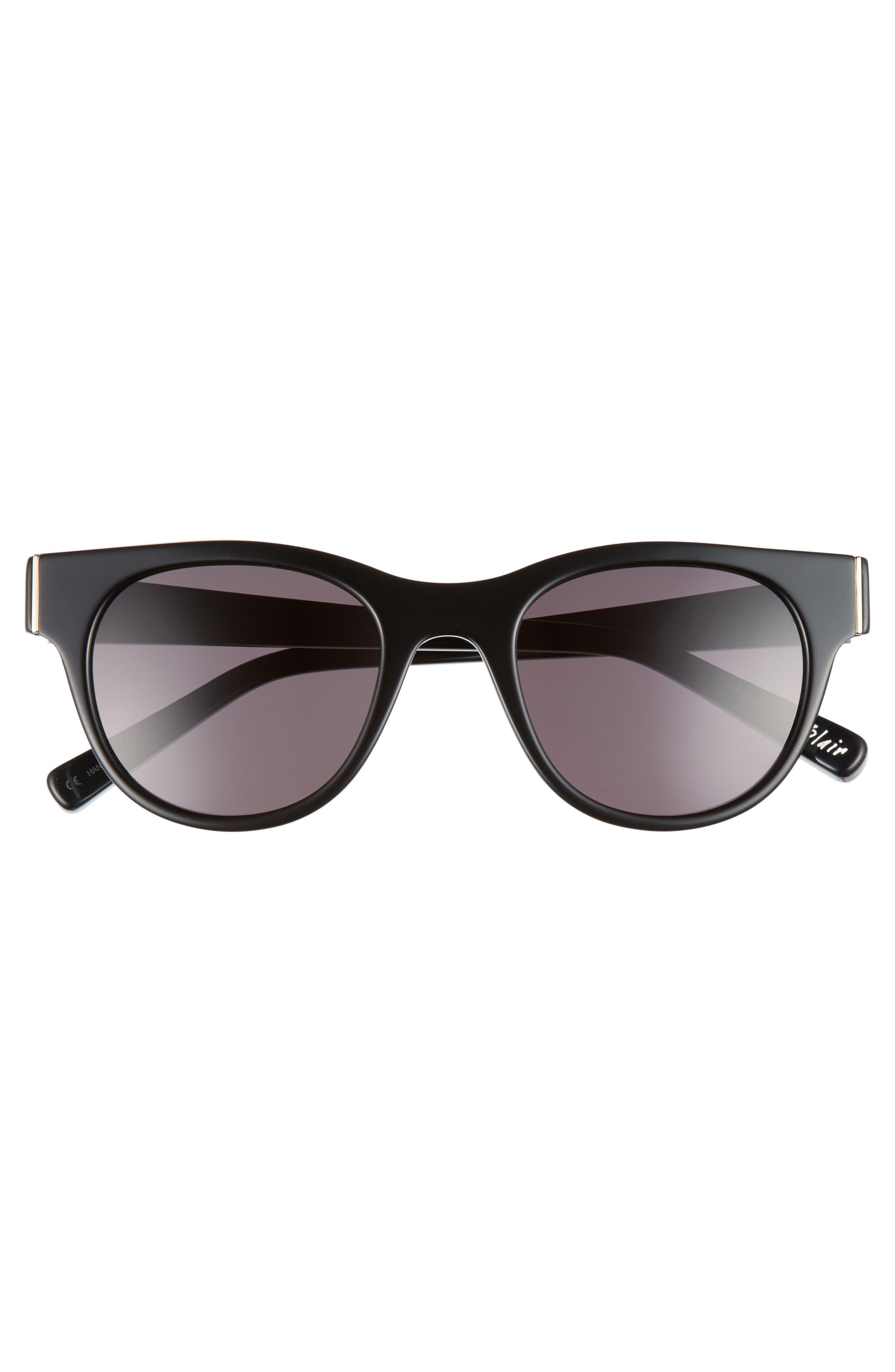 Blair 50mm Cat Eye Sunglasses,                             Alternate thumbnail 6, color,