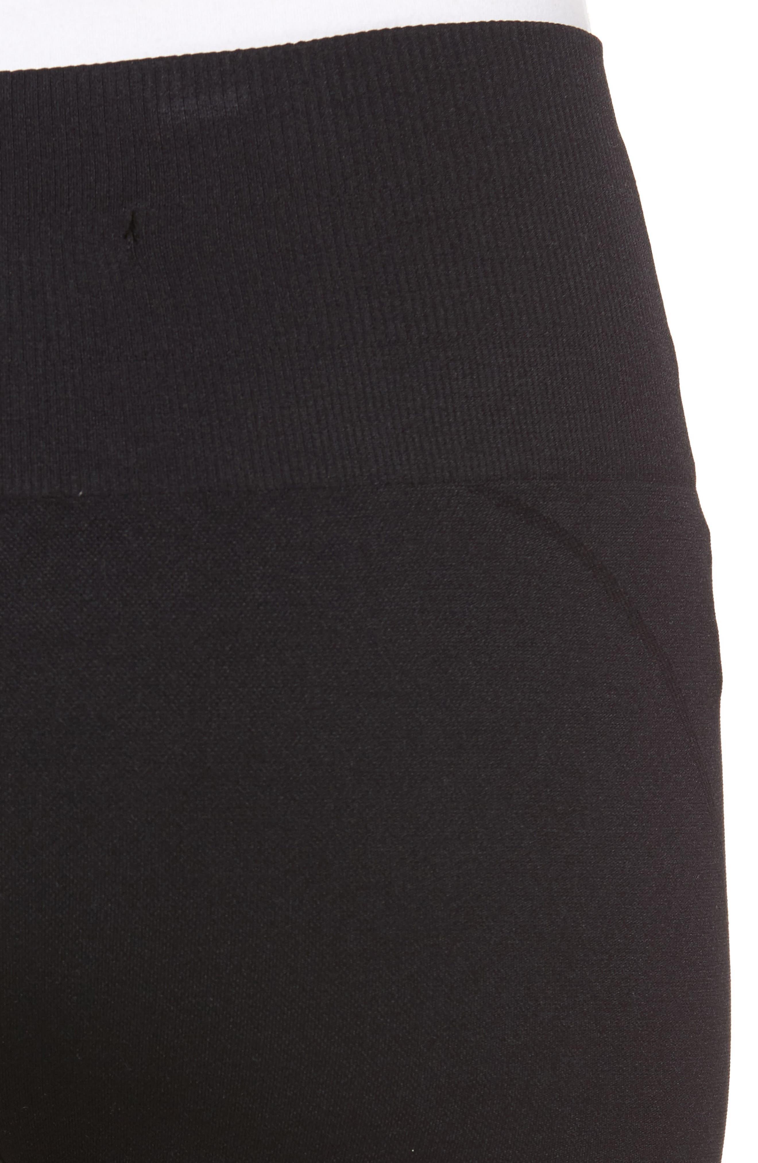 Seamless Leggings,                             Alternate thumbnail 4, color,                             BLACK