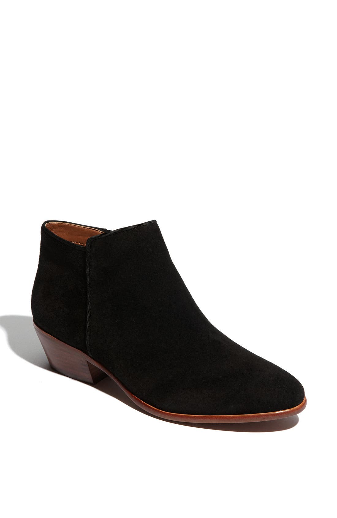 'Petty' Chelsea Boot,                             Main thumbnail 1, color,                             BLACK SUEDE